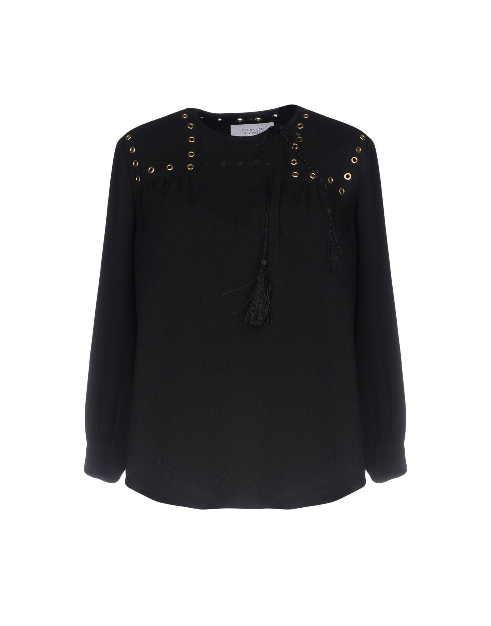 Discount Authentic Free Shipping Manchester Great Sale floral embroidered blouse - Black Derek Lam 2018 New Cheap Online With Paypal Sale Online Drop Shipping fMBSSLtdy