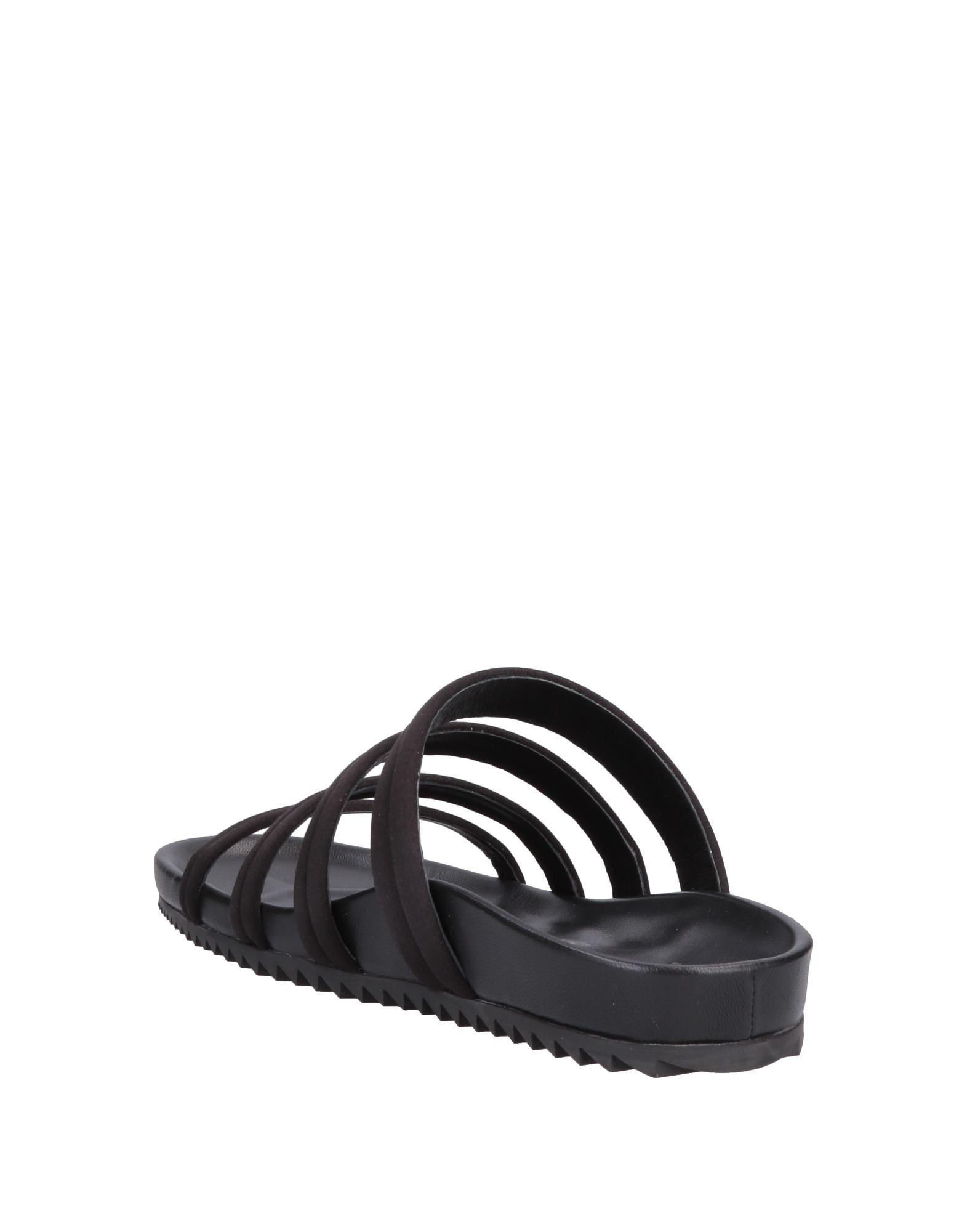 0763addb8814 Lyst - Pedro Garcia Sandals in Black