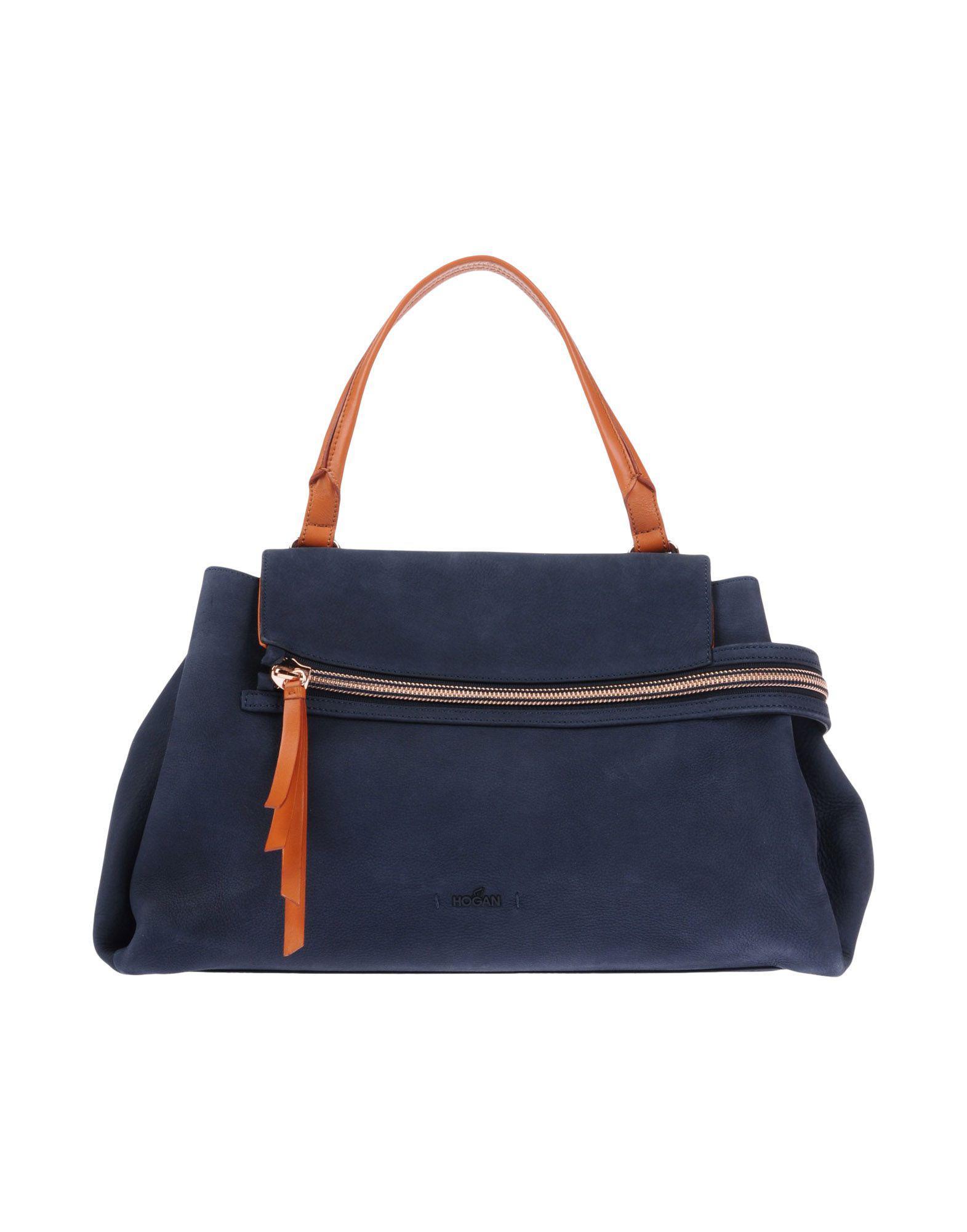 72326467b88 Lyst - Hogan Handbag in Blue