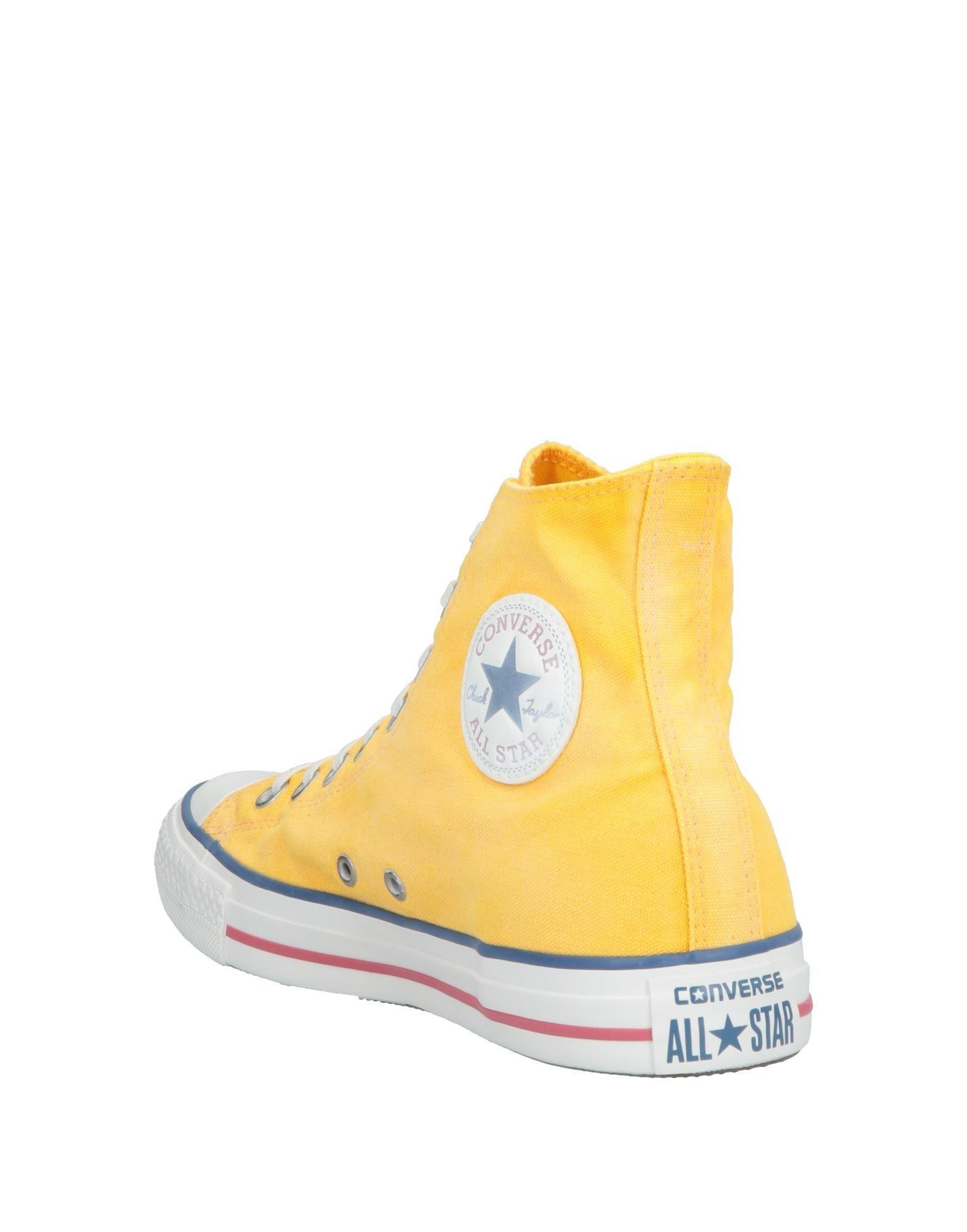 3c3ed679cfb Converse High-tops   Sneakers in Yellow for Men - Lyst