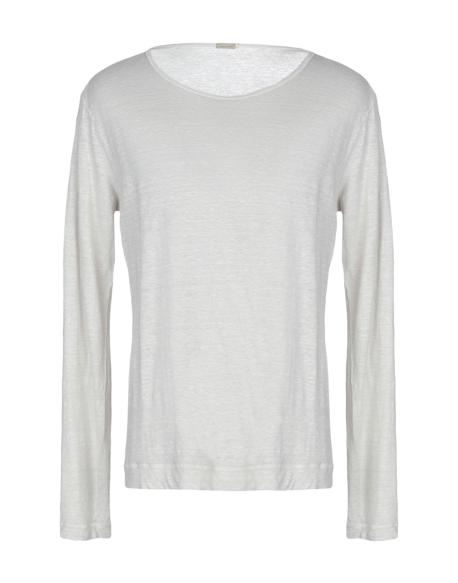 Lyst Massimo Alba Sweaters In White For Men