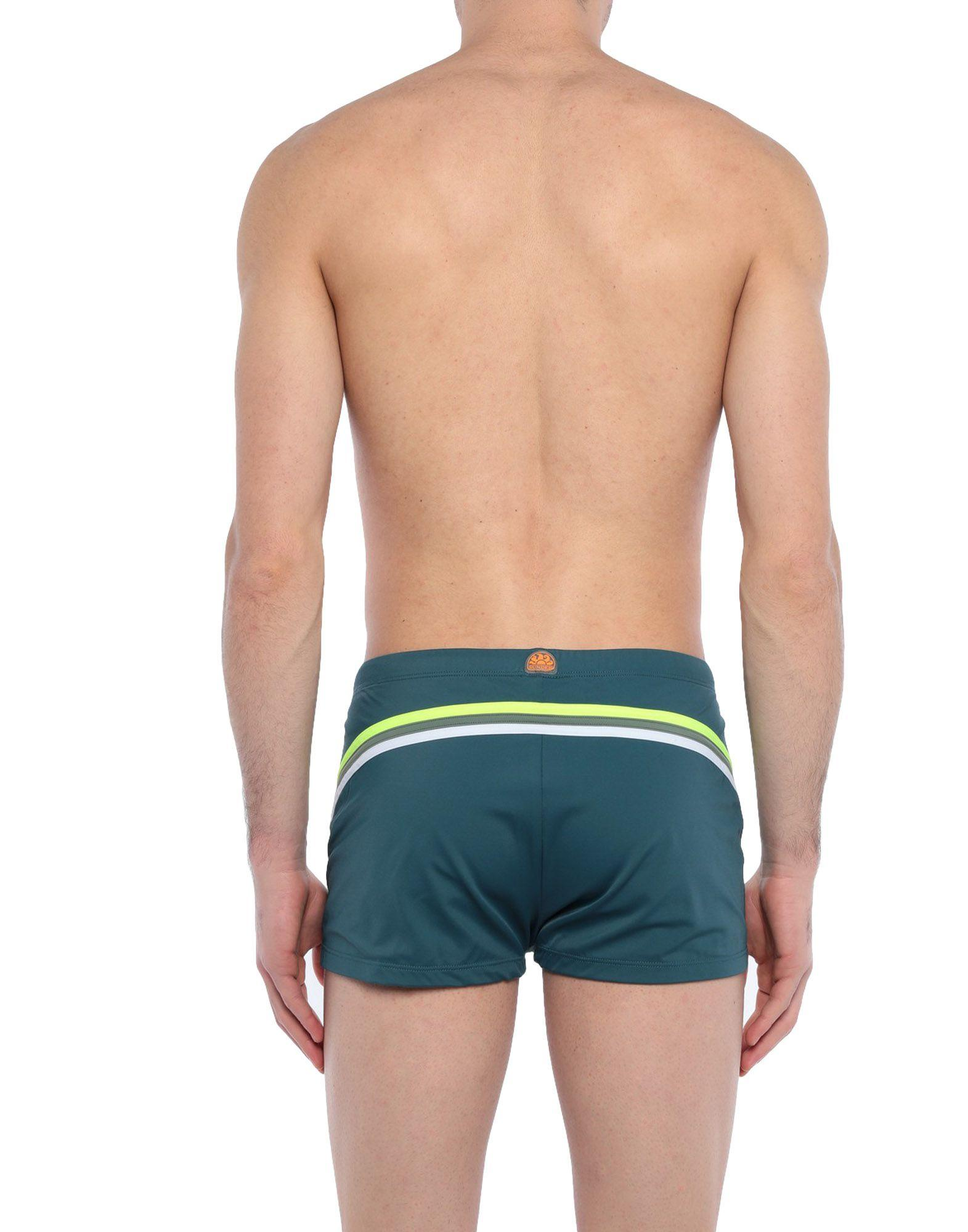 d2e94e4cbf924 Lyst - Sundek Swimming Trunks in Blue for Men