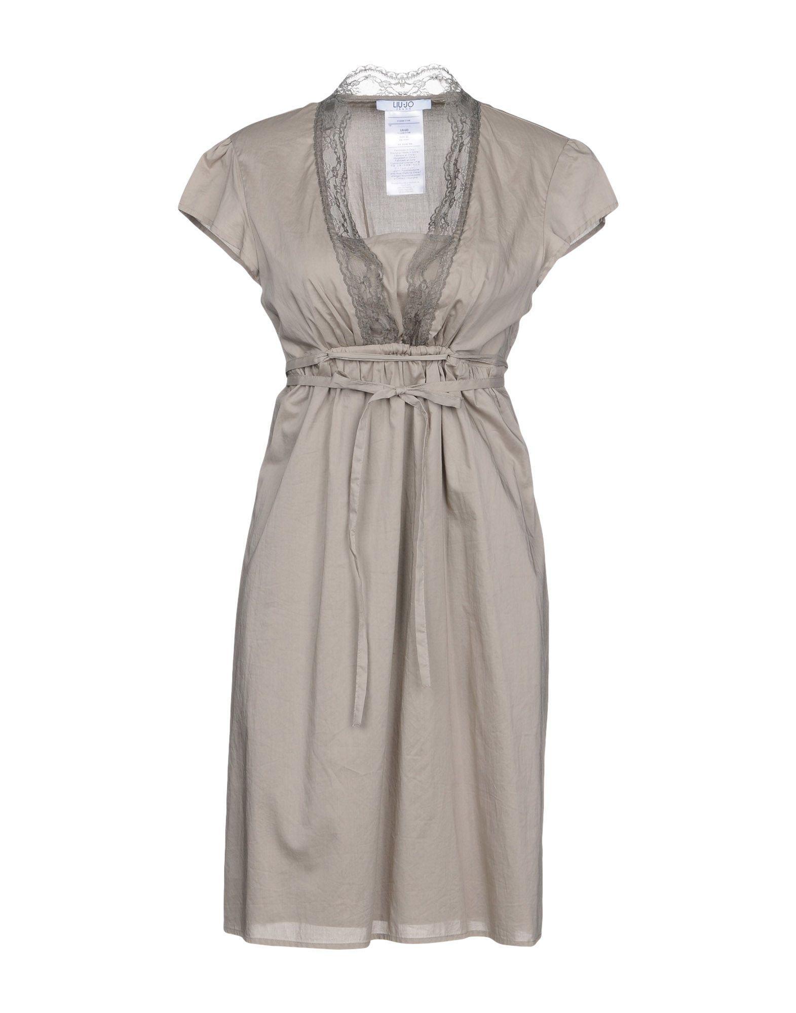 d233bf0a2af41 Lyst - Liu Jo Short Dress in Gray