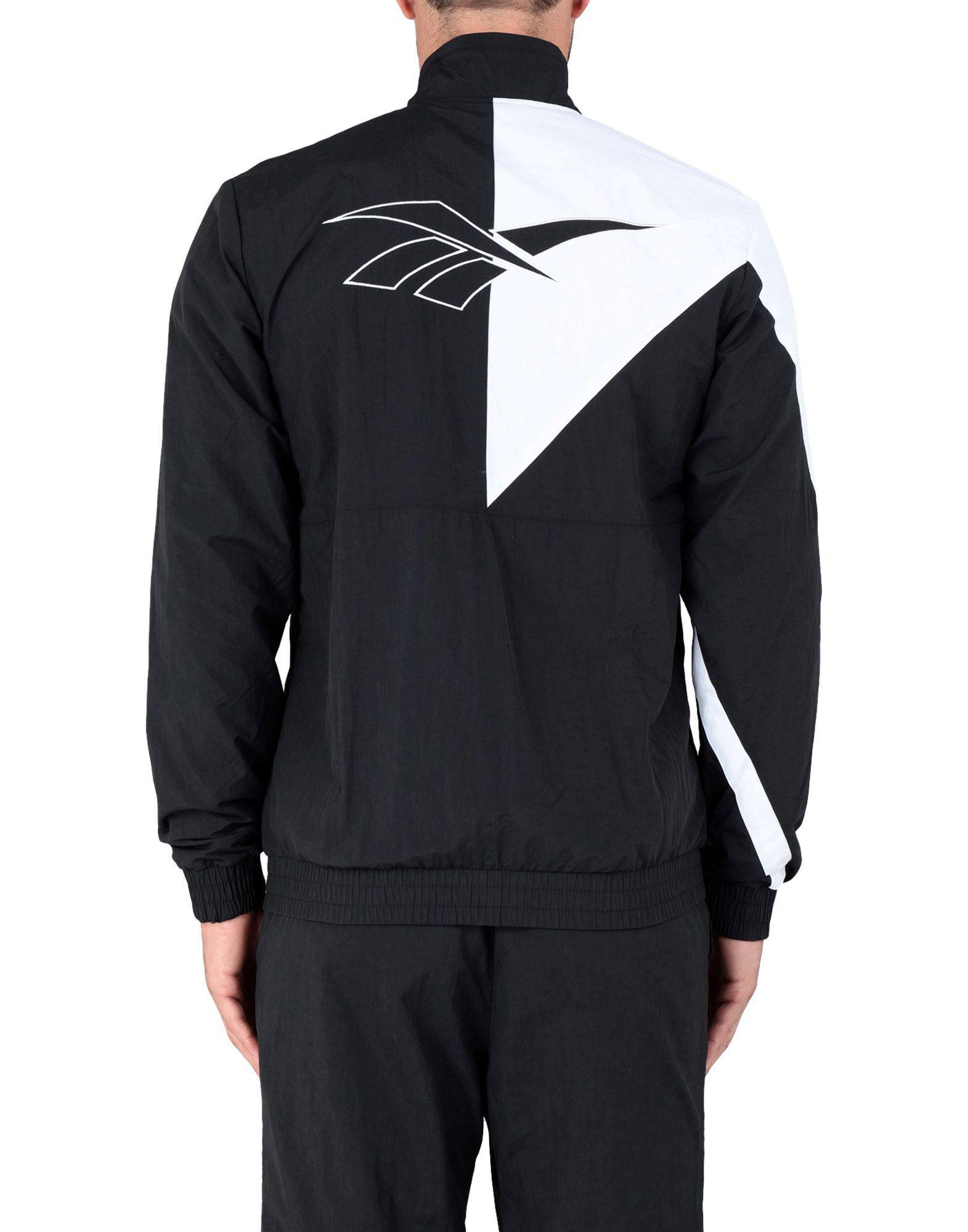 Lyst - Veste zippée colour block Reebok pour homme en coloris Noir -  15.78947368421052 % de réduction 218391d88dac