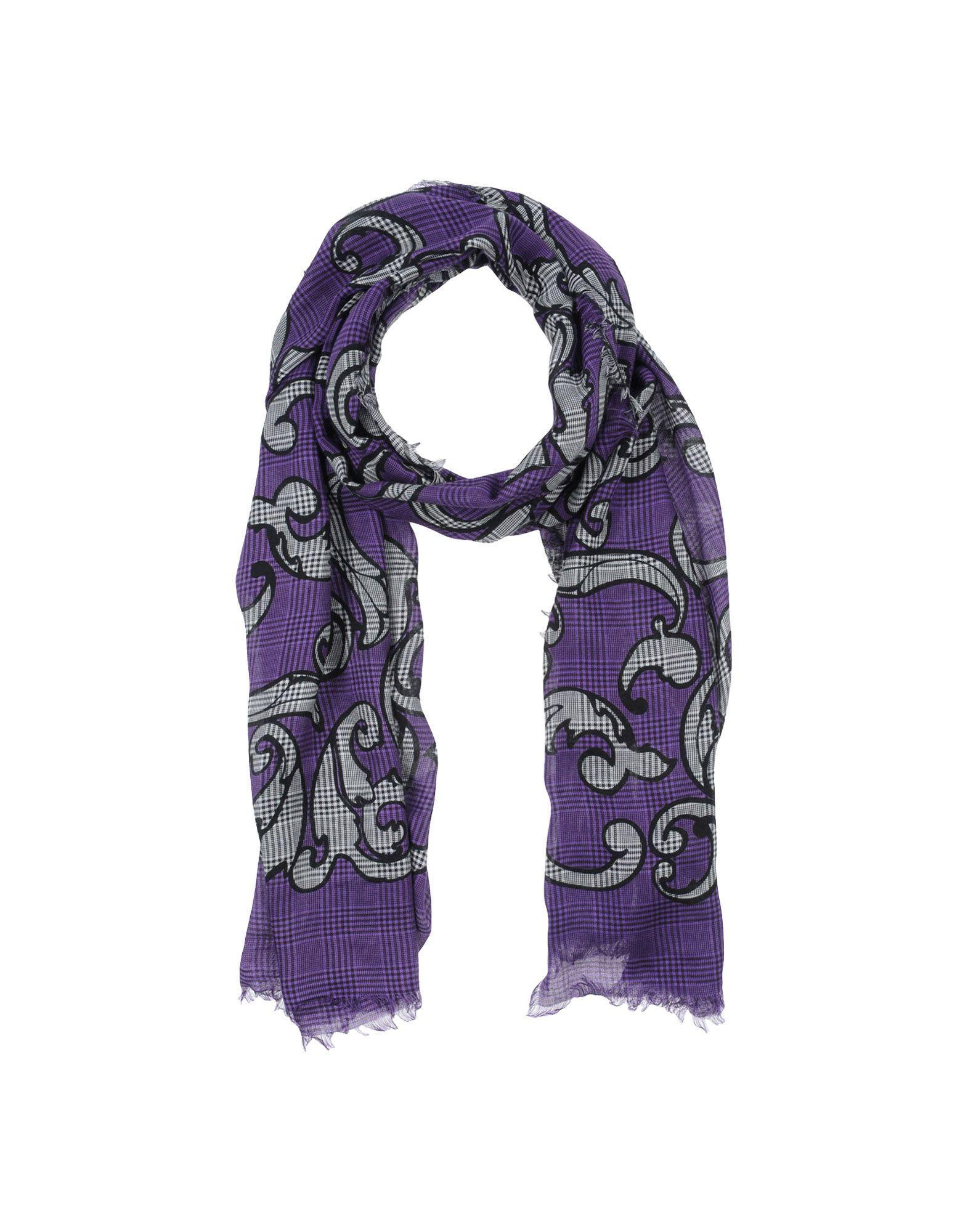 Lyst - Étole Versace en coloris Violet e521e7a1ca7