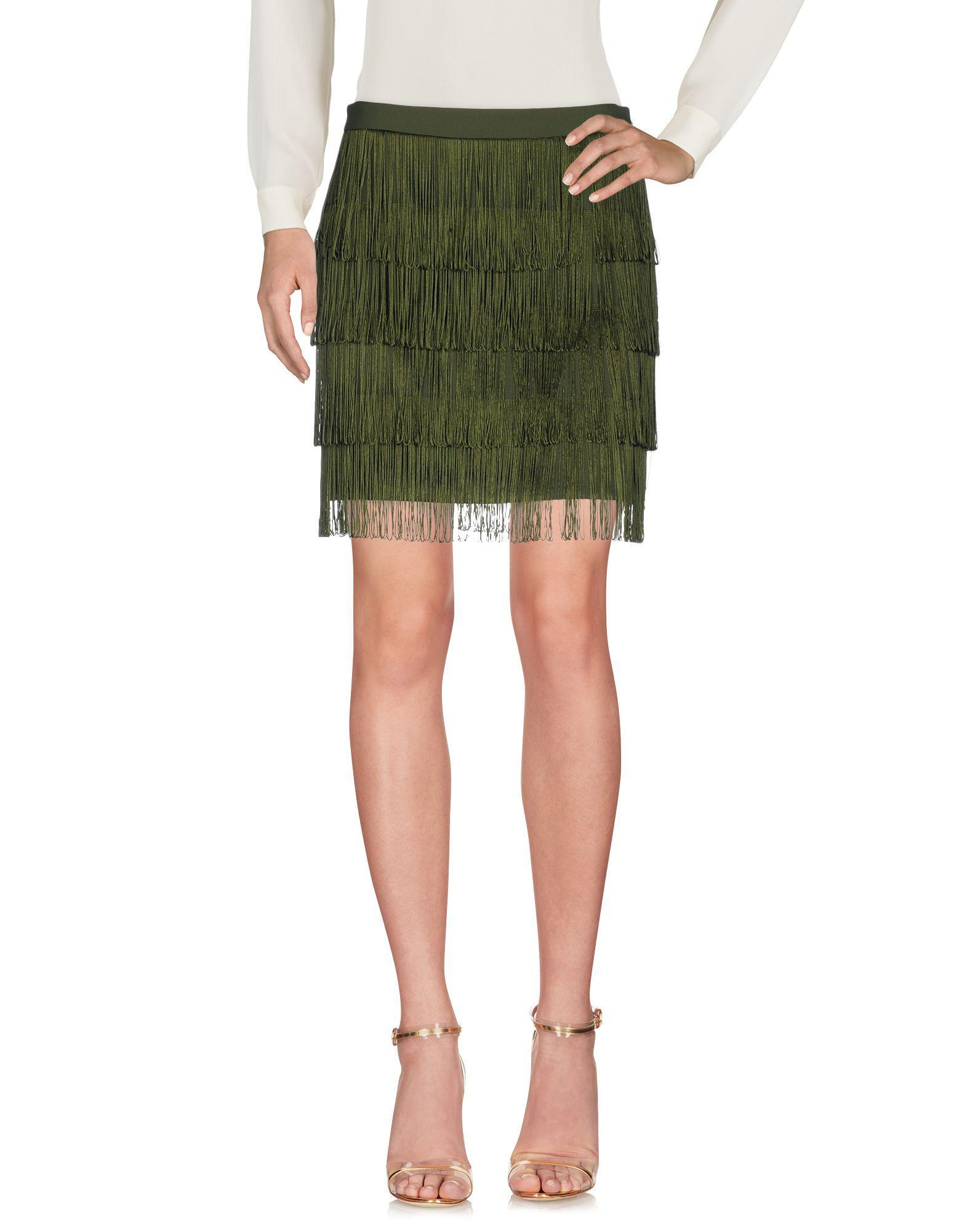 b9059bfcc2 Pinko Mini Skirt in Green - Lyst