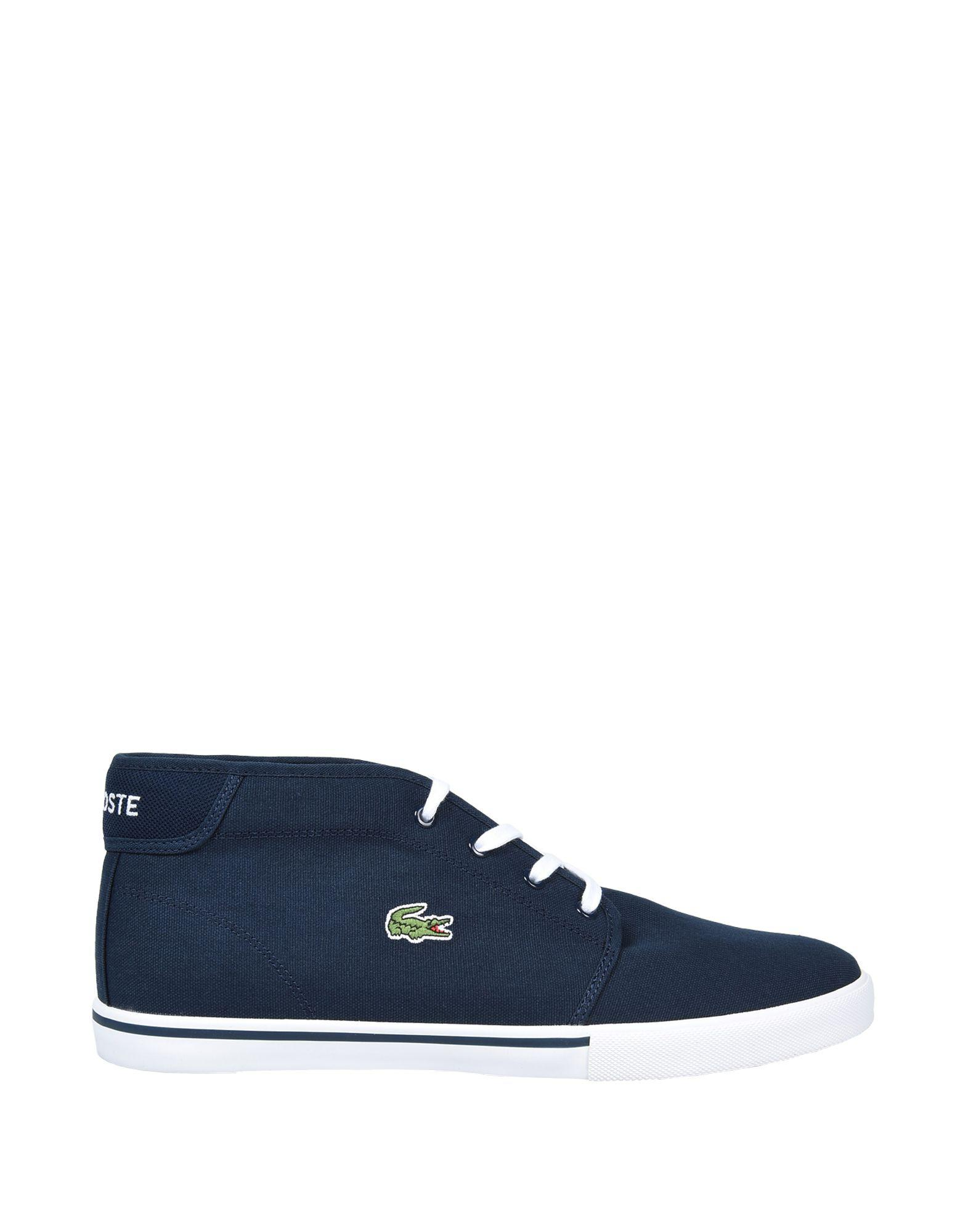 b45fa35e6 Lacoste Sport High-tops   Sneakers in Blue for Men - Lyst