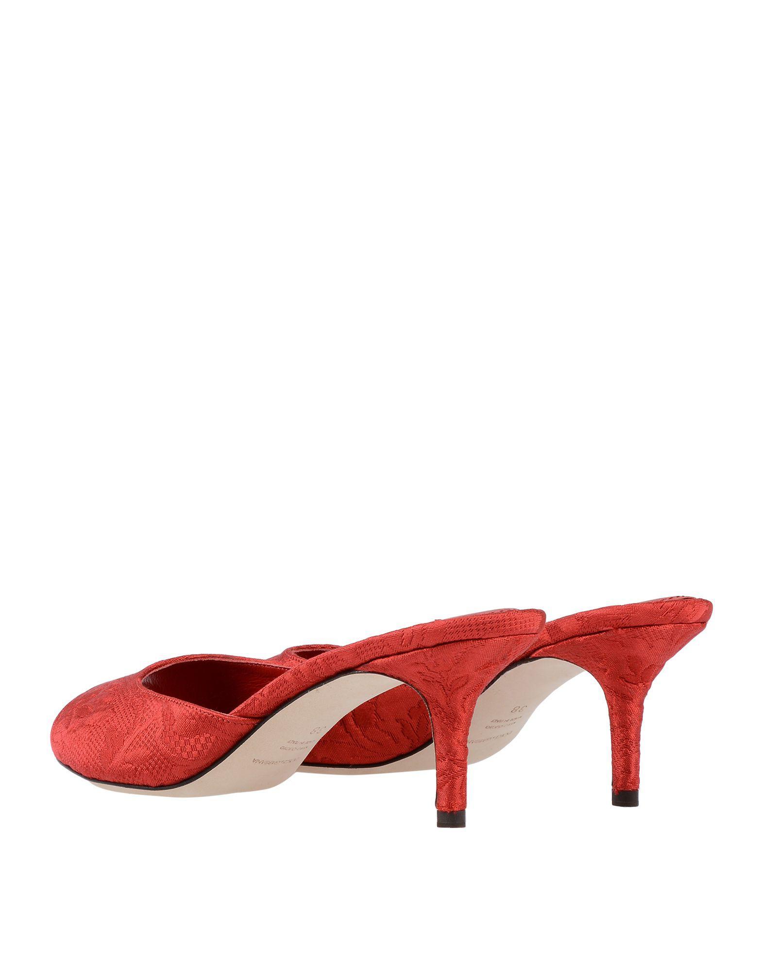 ba4fa9489faa Lyst - Dolce   Gabbana Sandals in Red