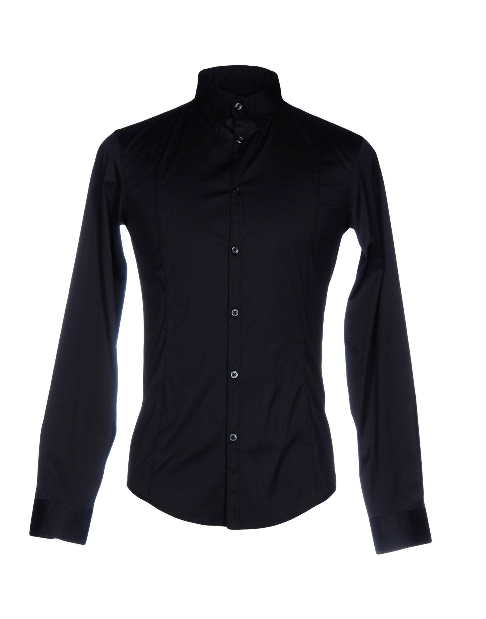 1006219b45 Lyst - Armani Jeans Shirt in Blue for Men