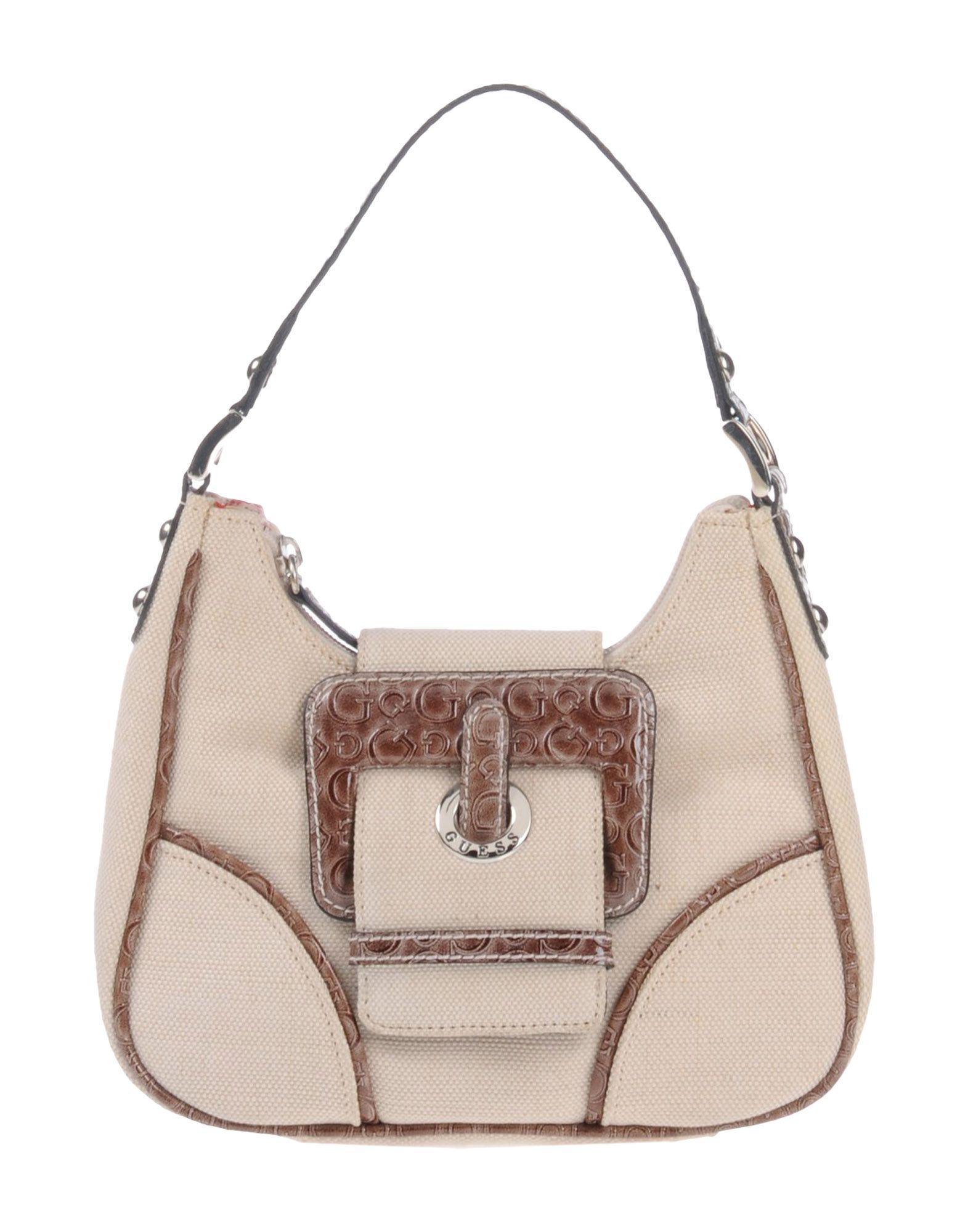 2c460de62e59 Guess Handbag in White - Lyst