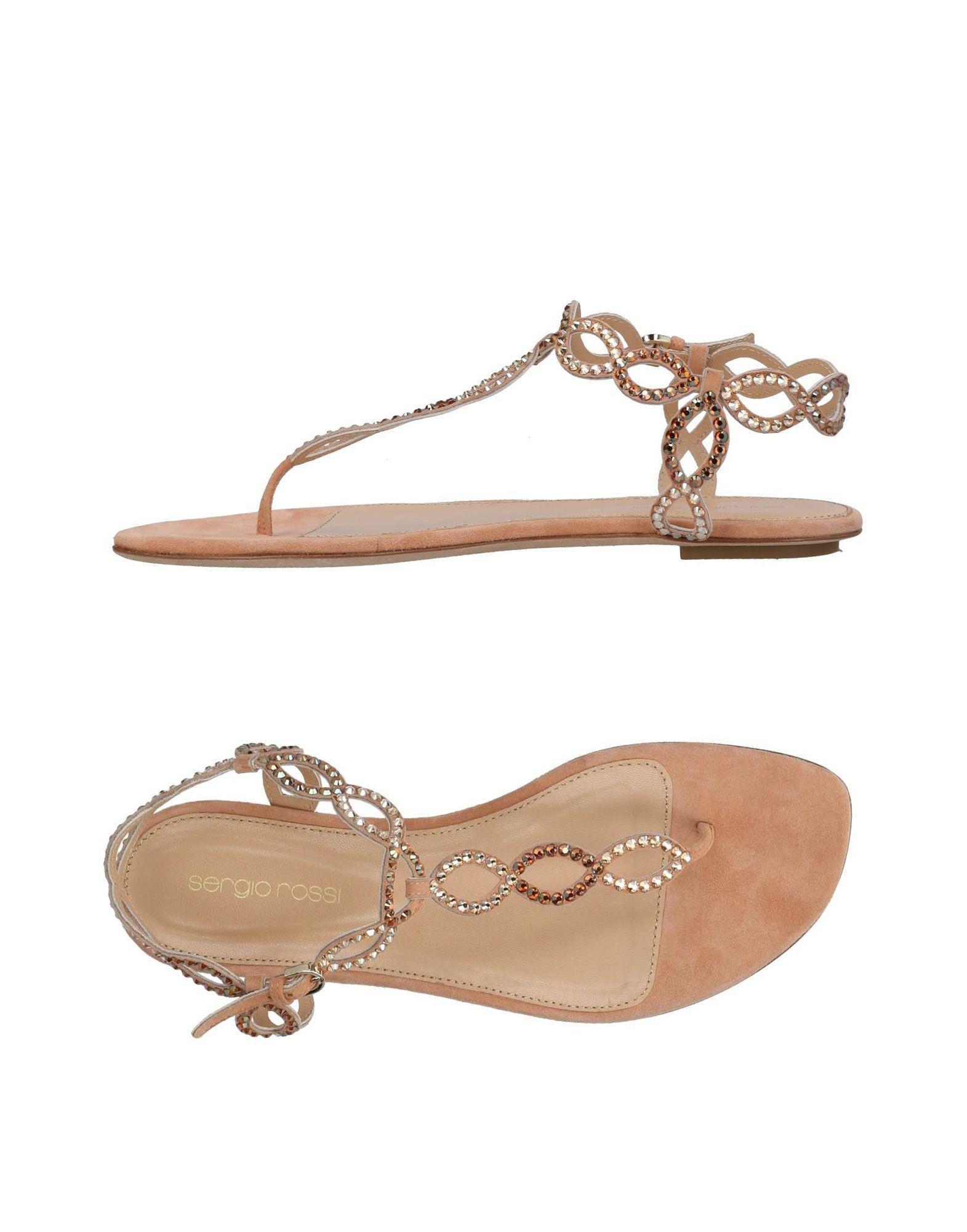 FOOTWEAR - Toe post sandals Sergio Rossi yJBvZfG