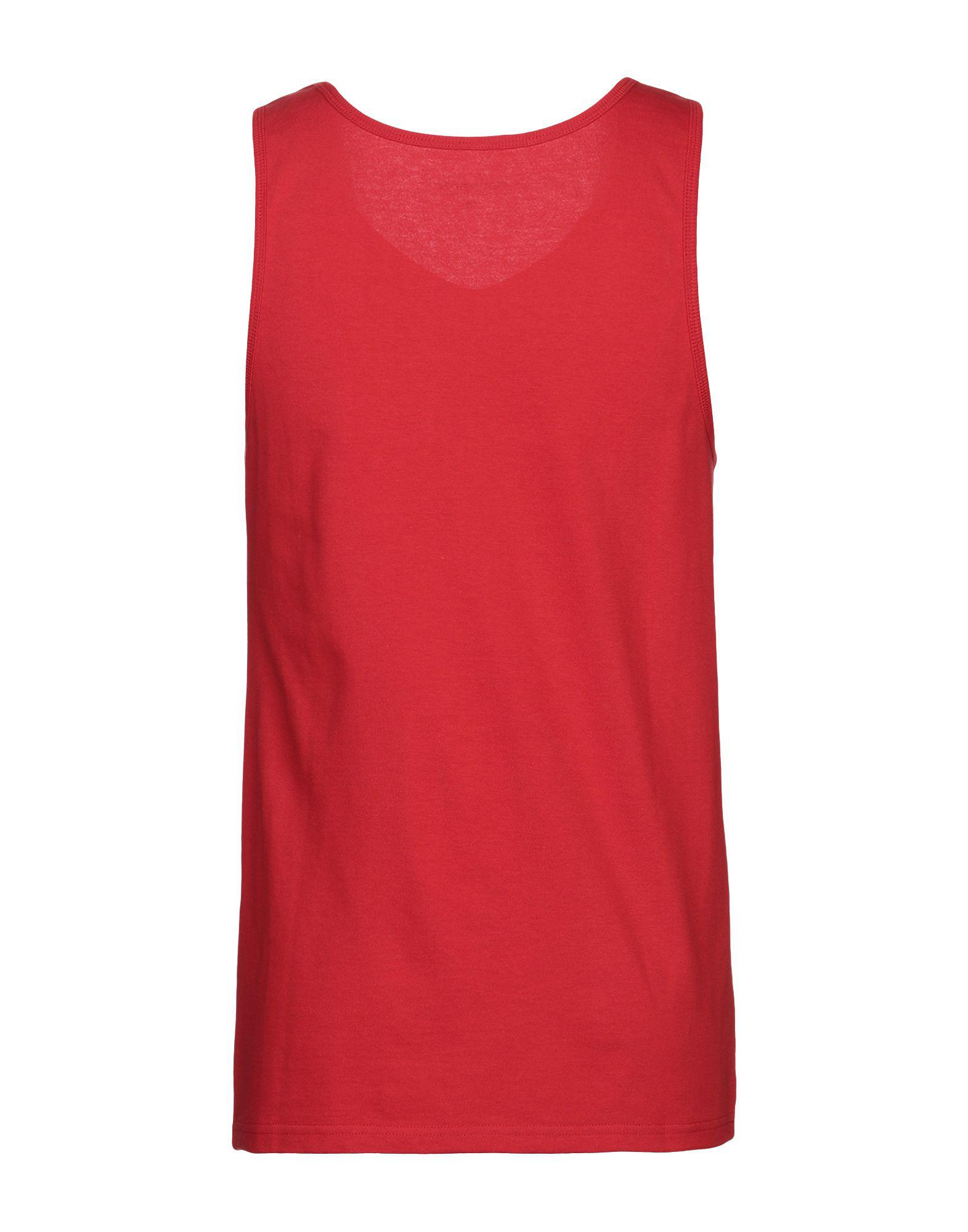 e9f967da555bf7 Lyst - Carhartt Tank Top in Red for Men