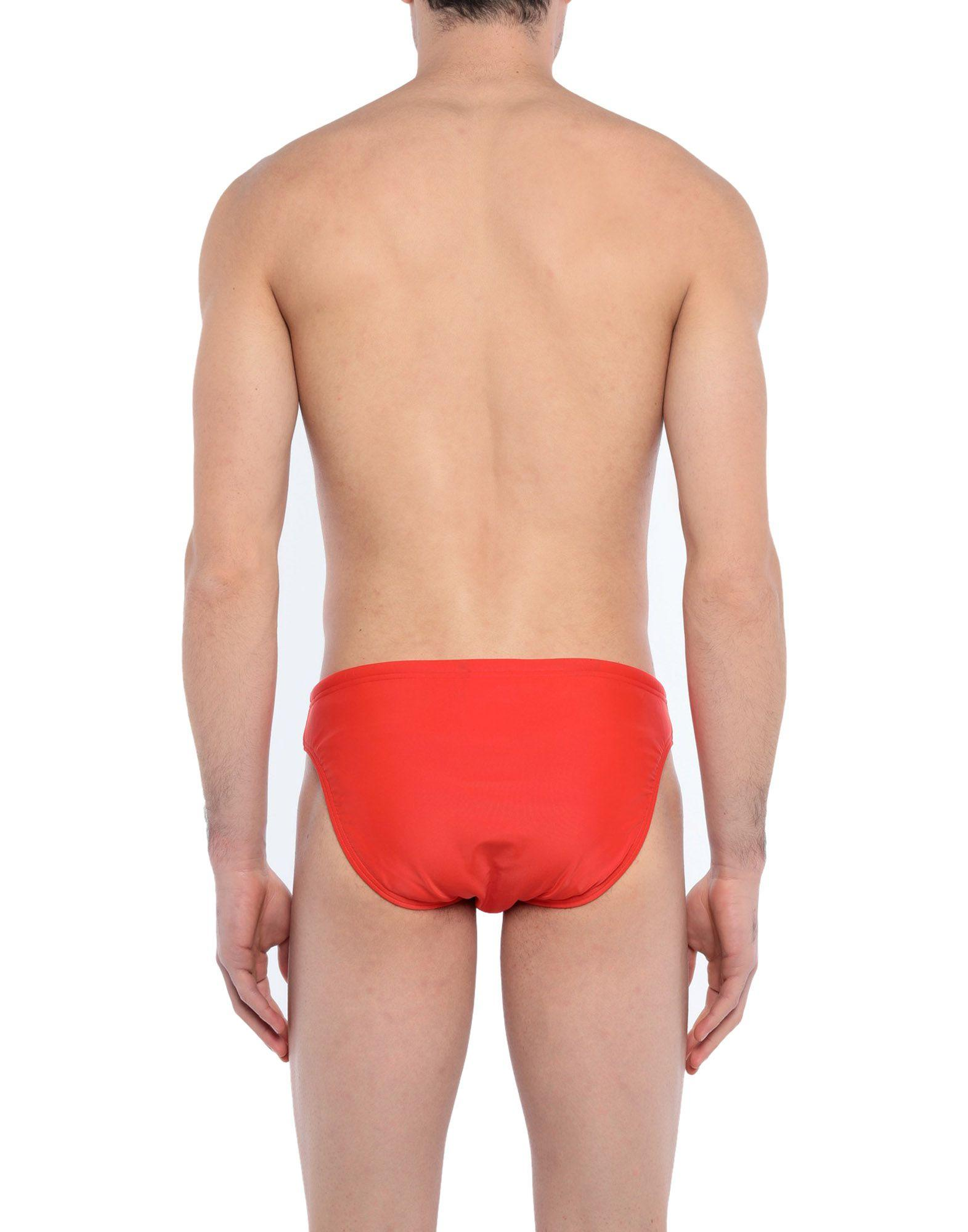 e409527a5e Speedo Swim Brief in Orange for Men - Lyst