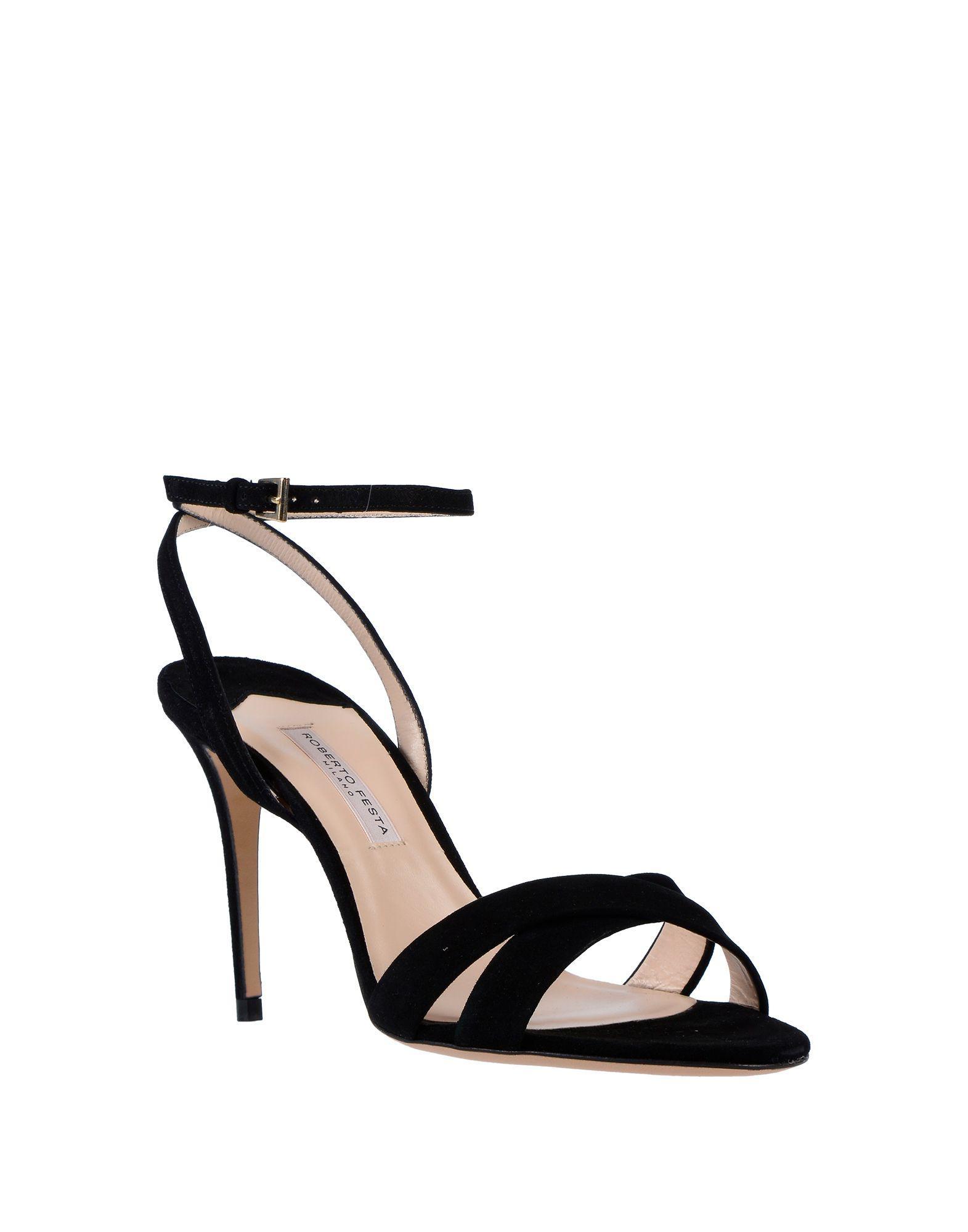 e0351c0e8b4 Roberto Festa Sandals in Black - Lyst