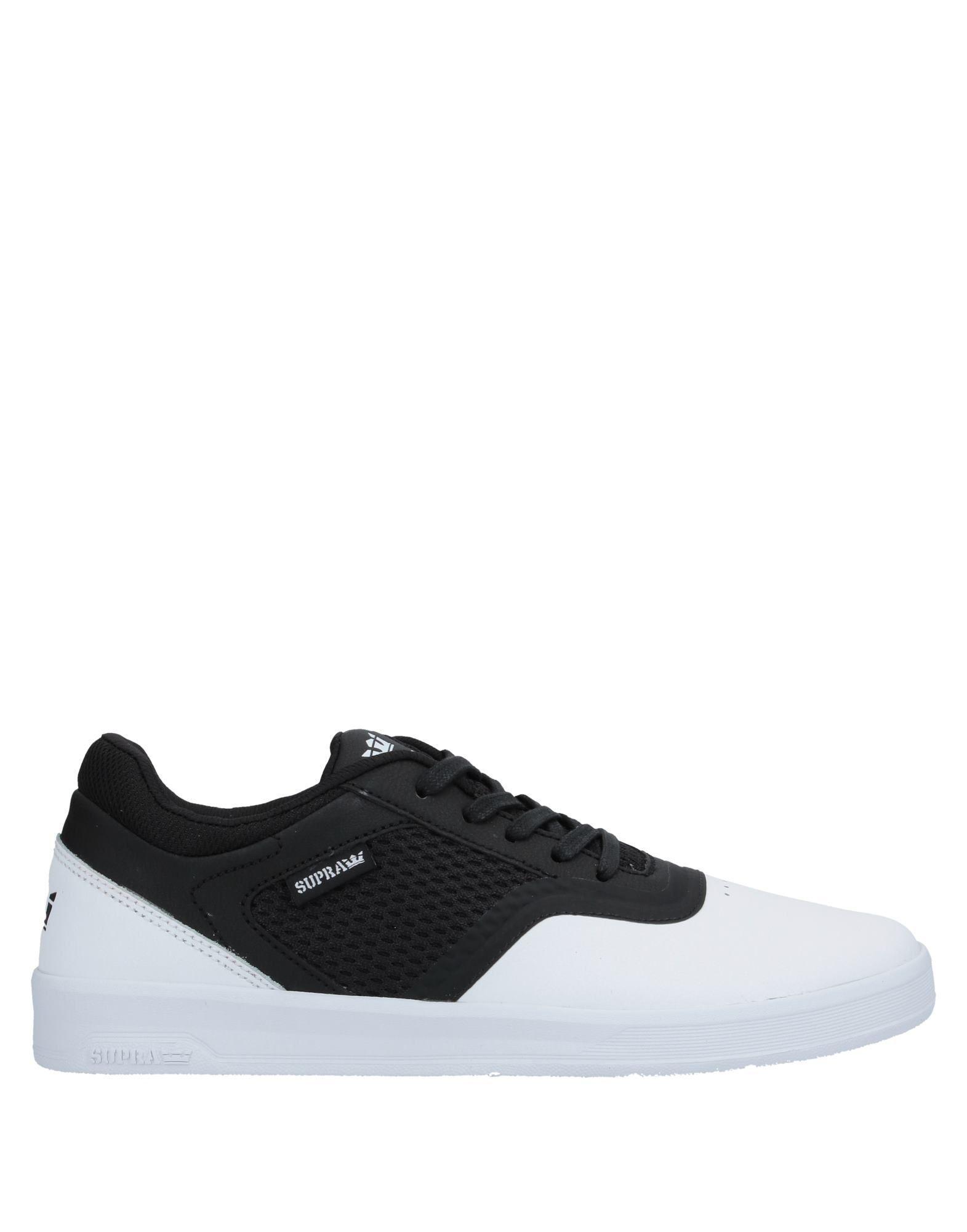 f56b428c1b Supra Low-tops & Sneakers in White for Men - Lyst