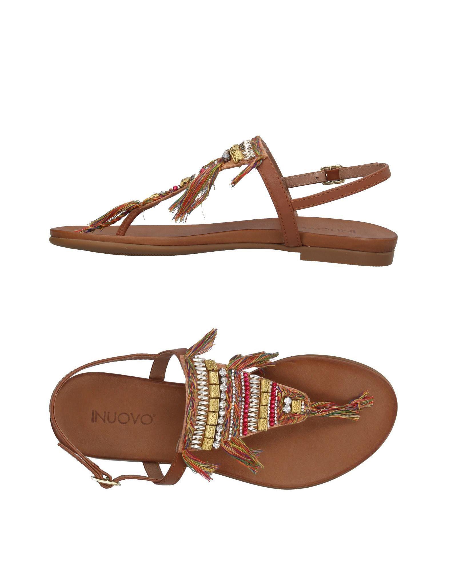 FOOTWEAR - Toe post sandals Inuovo uF9rz