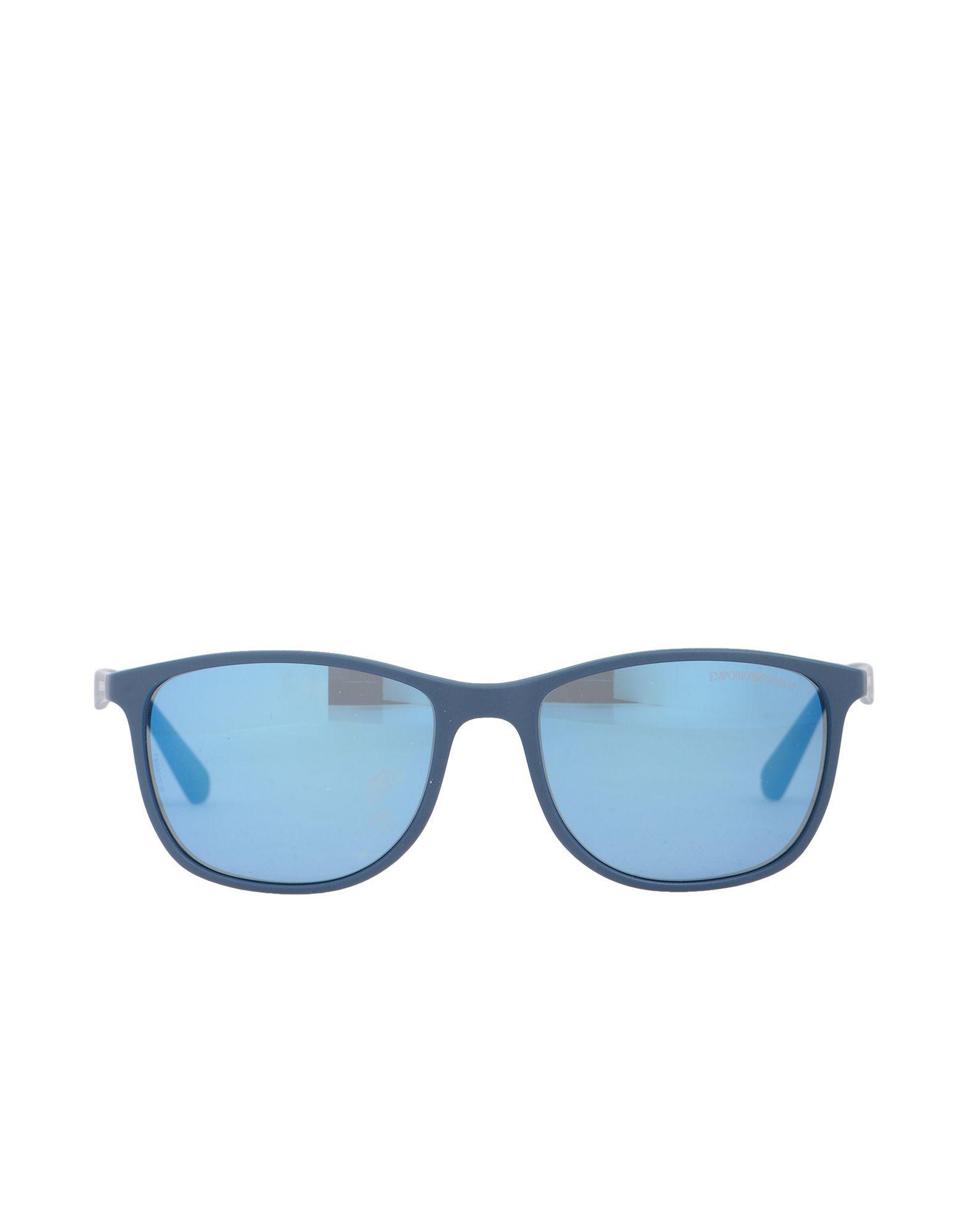 99a41b4bffc7 Emporio Armani Sunglasses in Blue for Men - Lyst