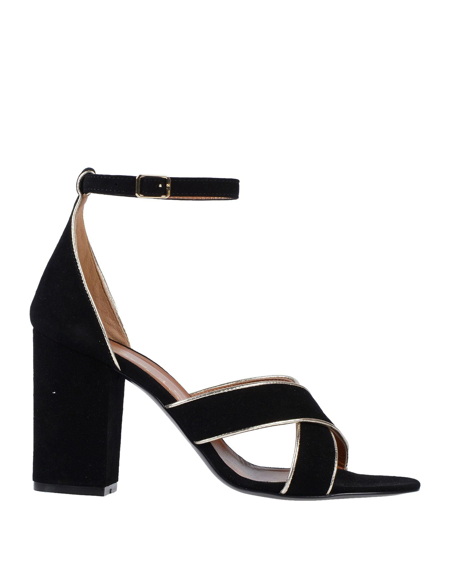 c43df94a5597f Lyst - Via Roma 15 Sandals in Black