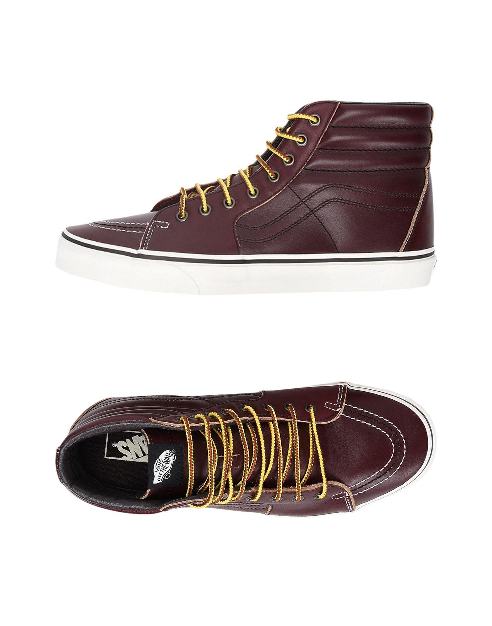 e4cdaef0186 Vans - Brown High-tops   Sneakers for Men - Lyst. View fullscreen
