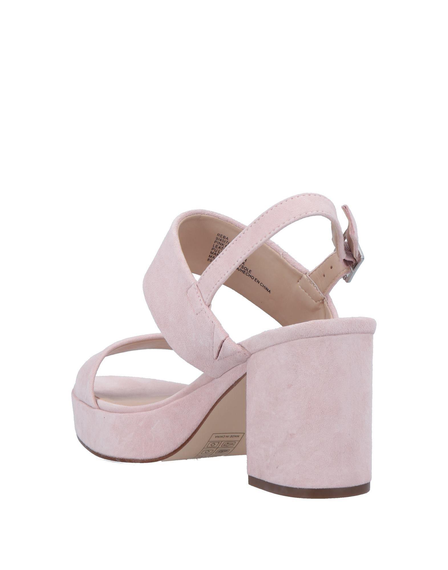 a40cb48b60a Lyst - Steve Madden Sandals in Pink