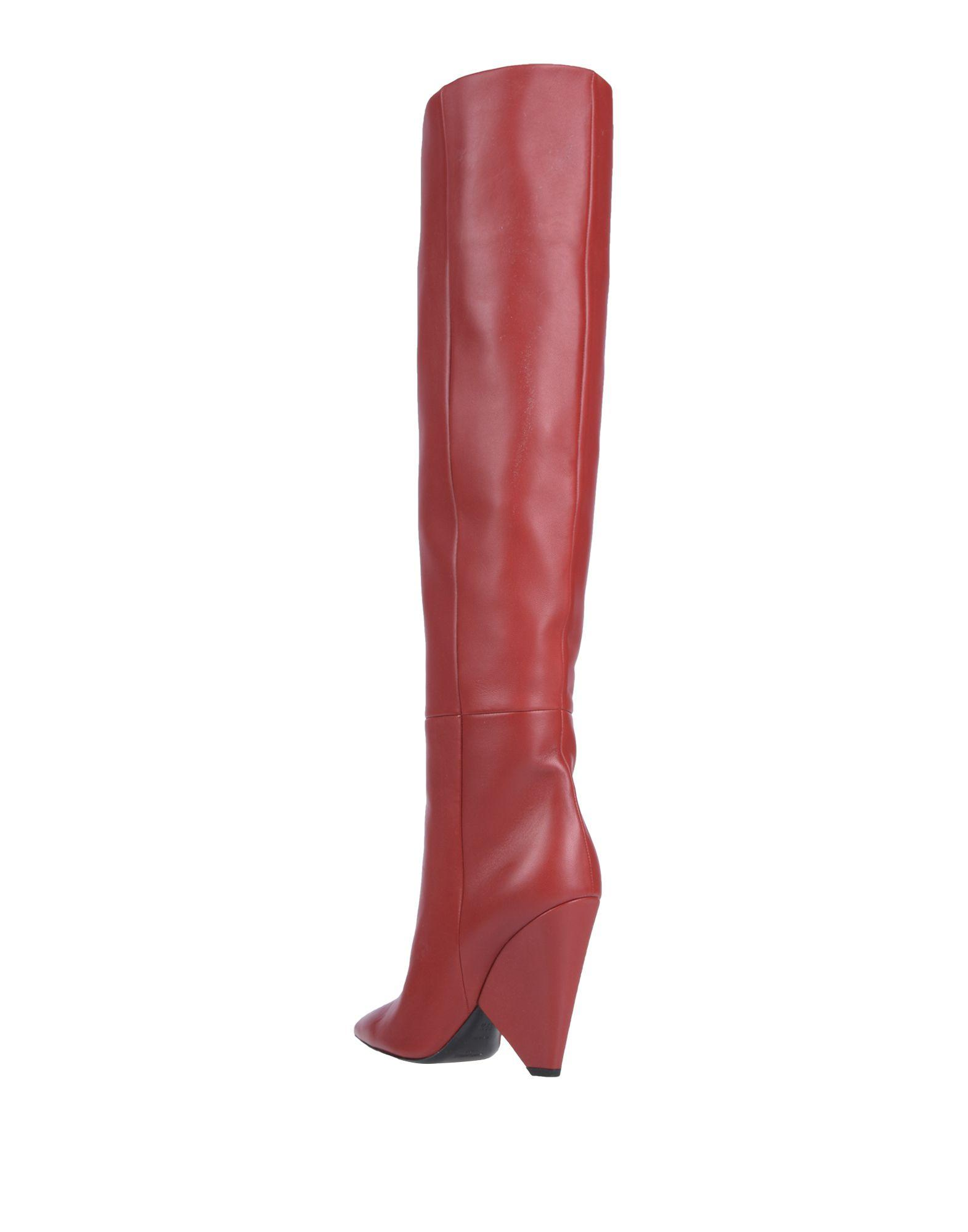 535a48793d0 Saint Laurent Boots in Red - Lyst