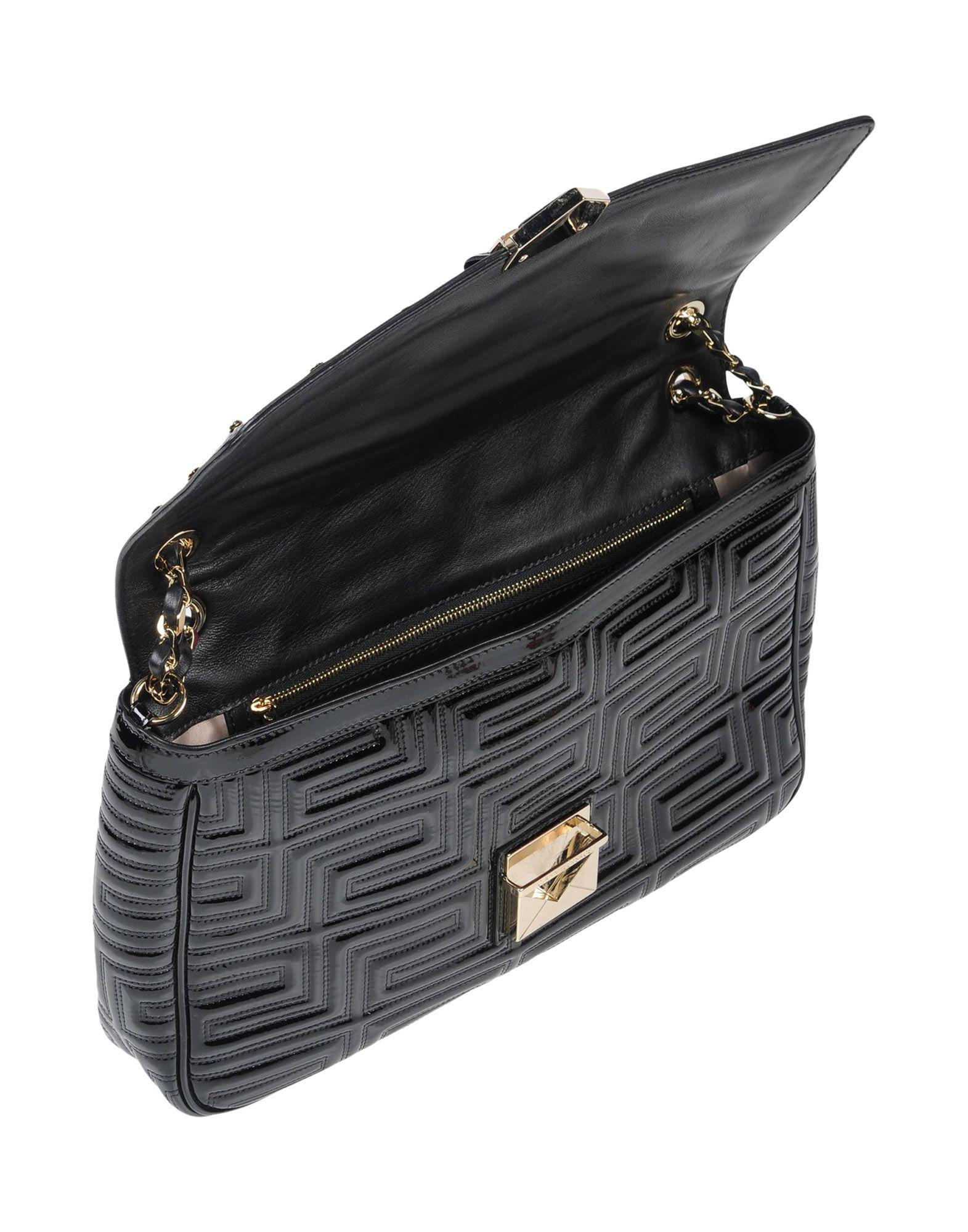 Lyst - Gianni Versace Couture Shoulder Bag in Black bf0fc5cbaca77