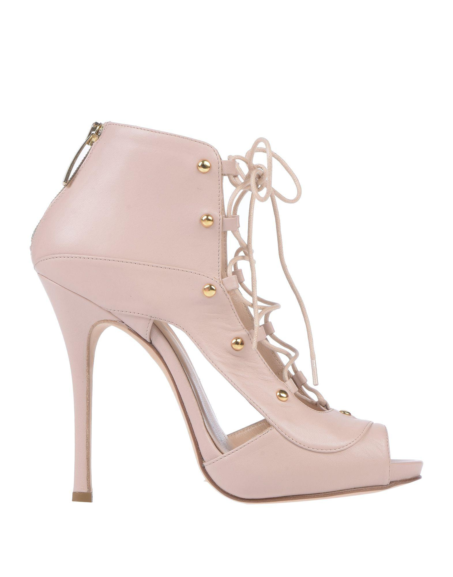 d68104c95e660a Lyst - Wo Milano Sandals in Pink