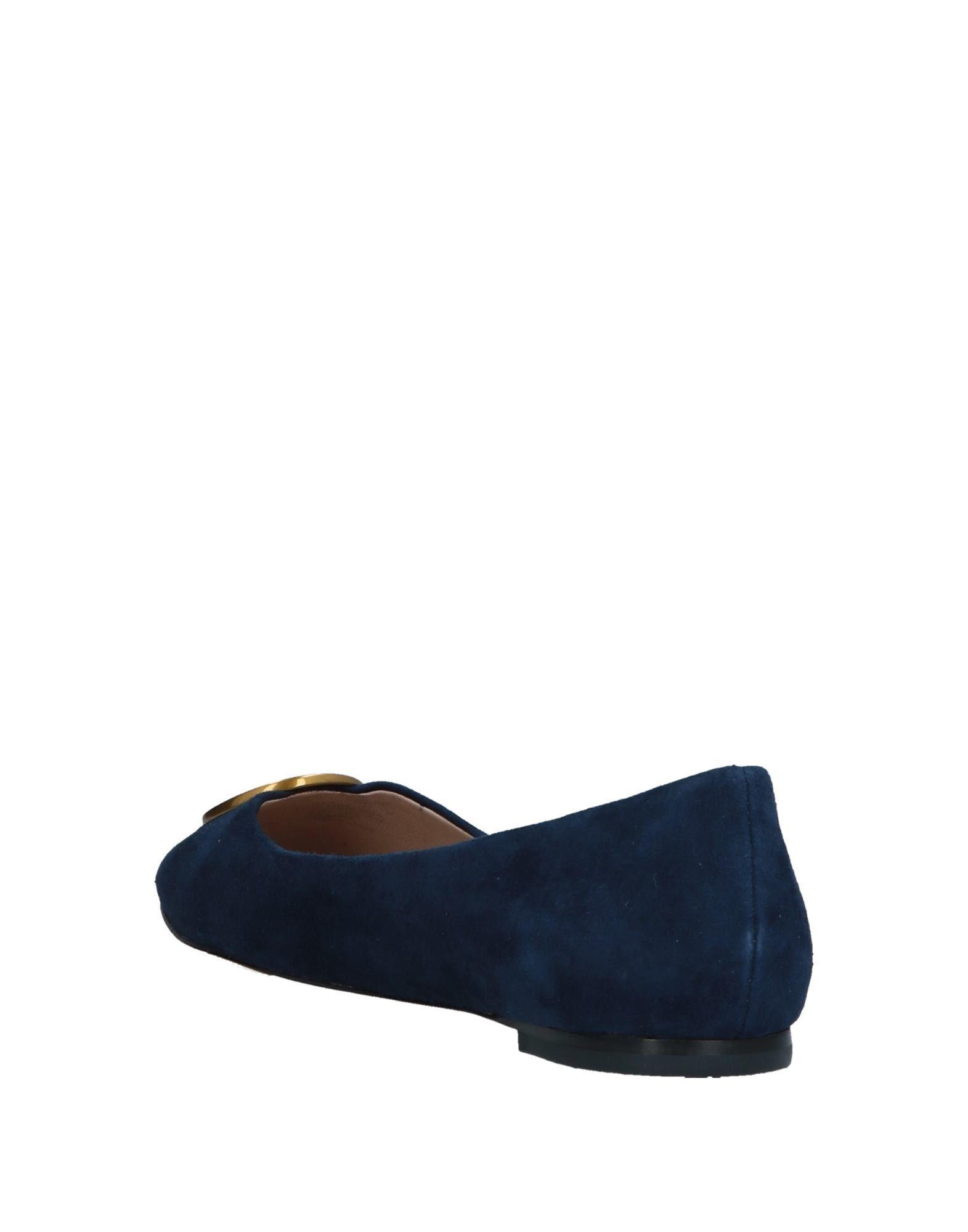 1fde8060c61 Lyst - Tory Burch Ballet Flats in Blue