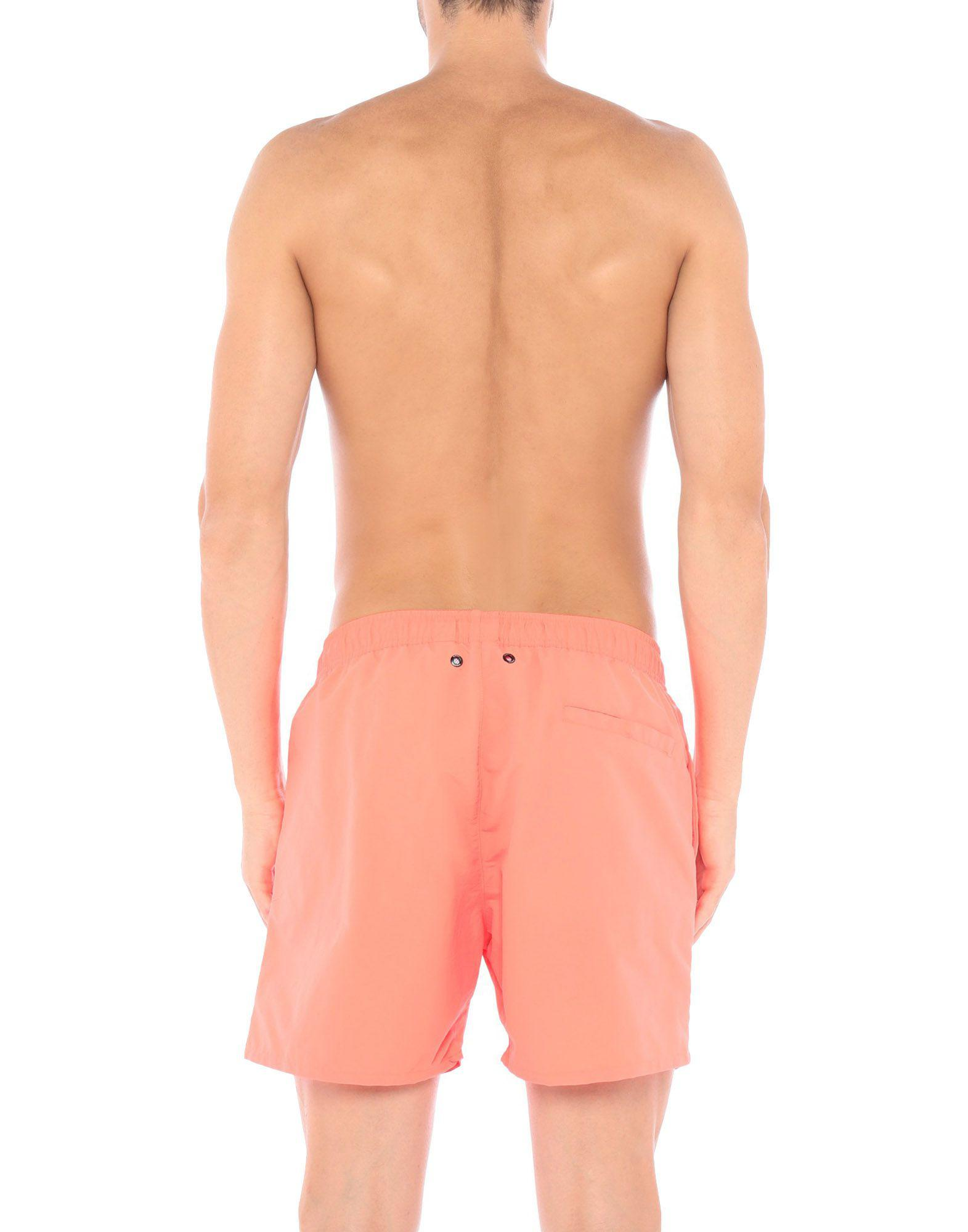 bb924facd0 K-Way Swim Trunks in Pink for Men - Lyst