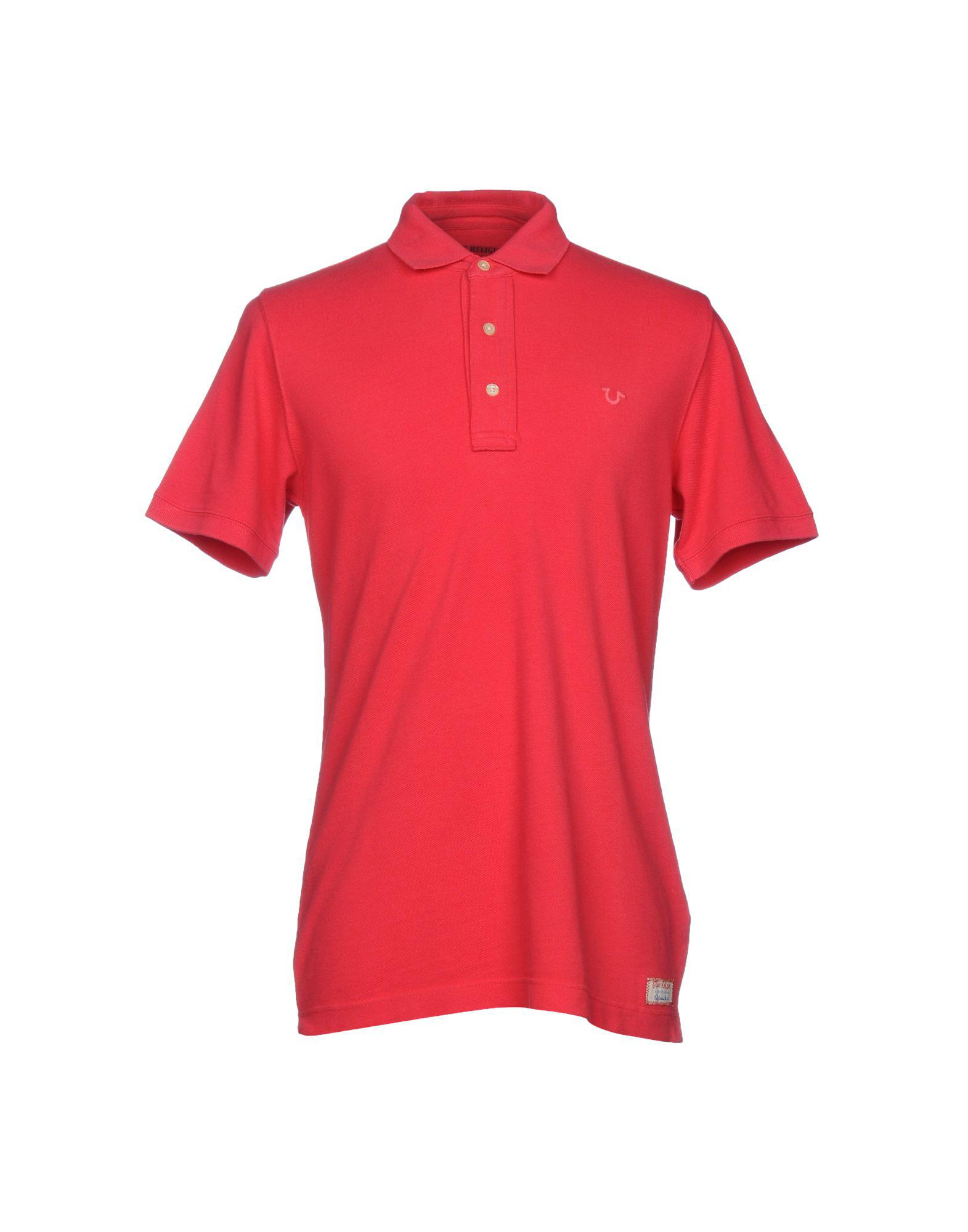 Lyst True Religion Polo Shirt In Red For Men