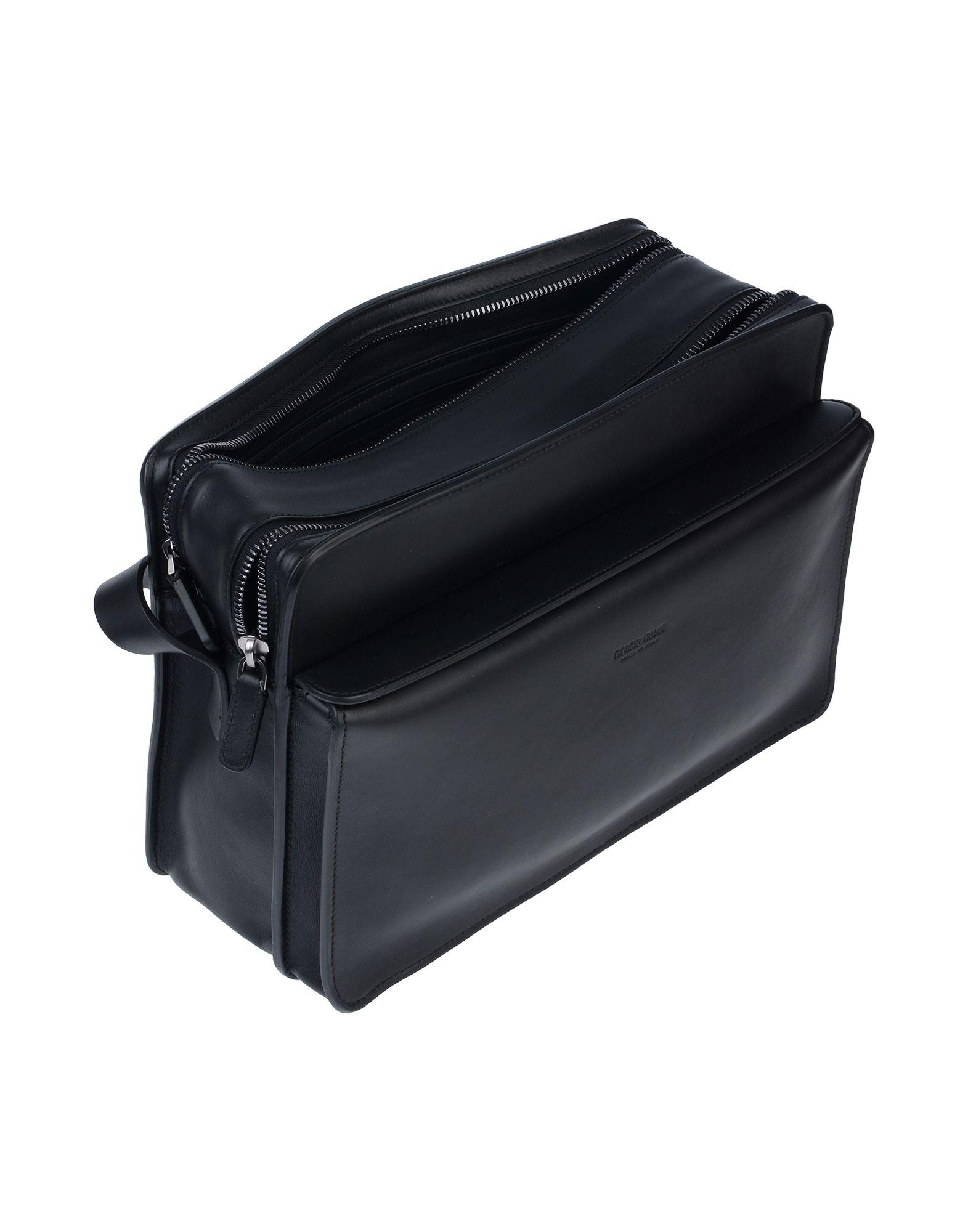 Lyst - Giorgio Armani Cross-body Bag in Black for Men 5367c777da