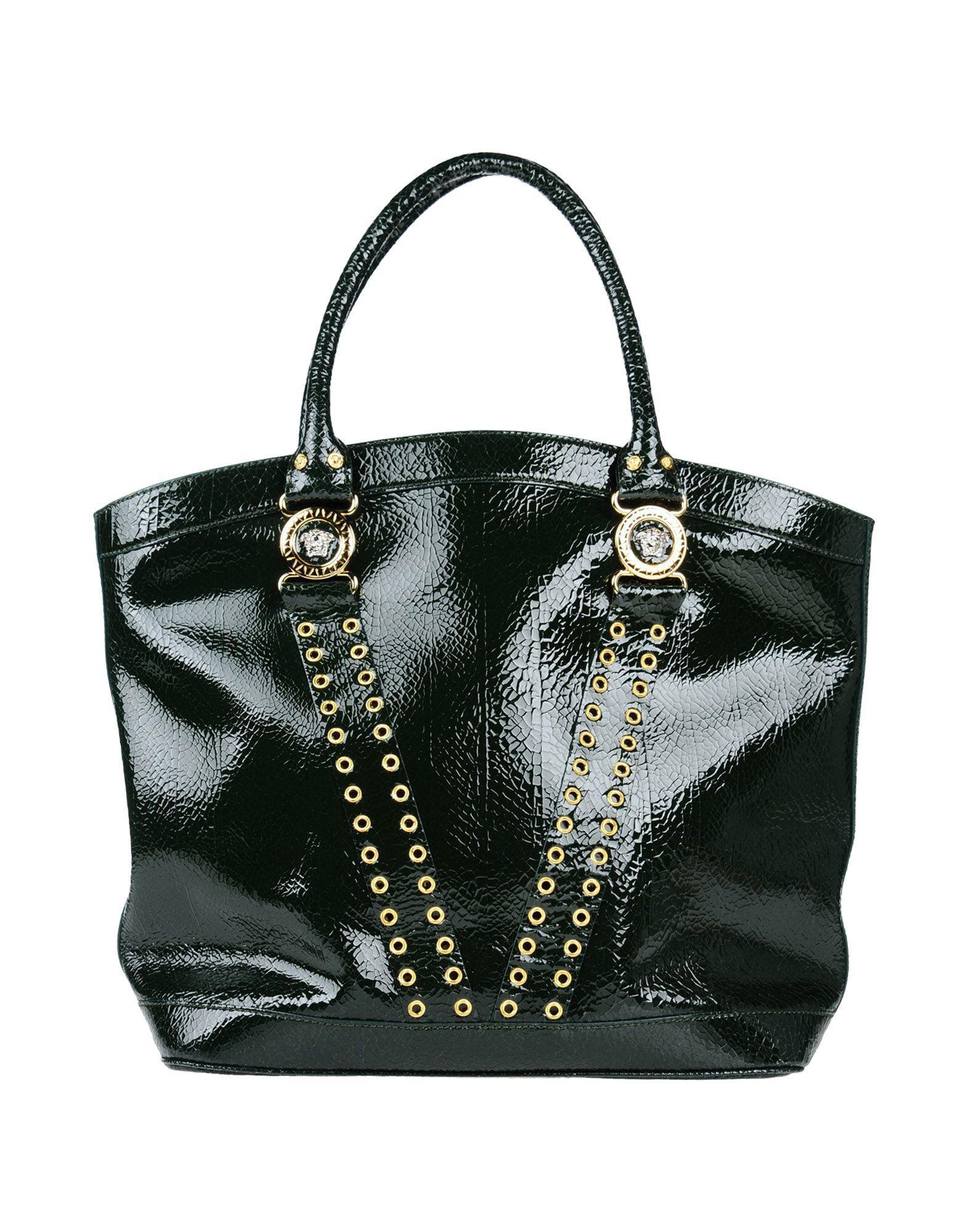 Lyst - Versace Handbags in Green 9a5143aee9