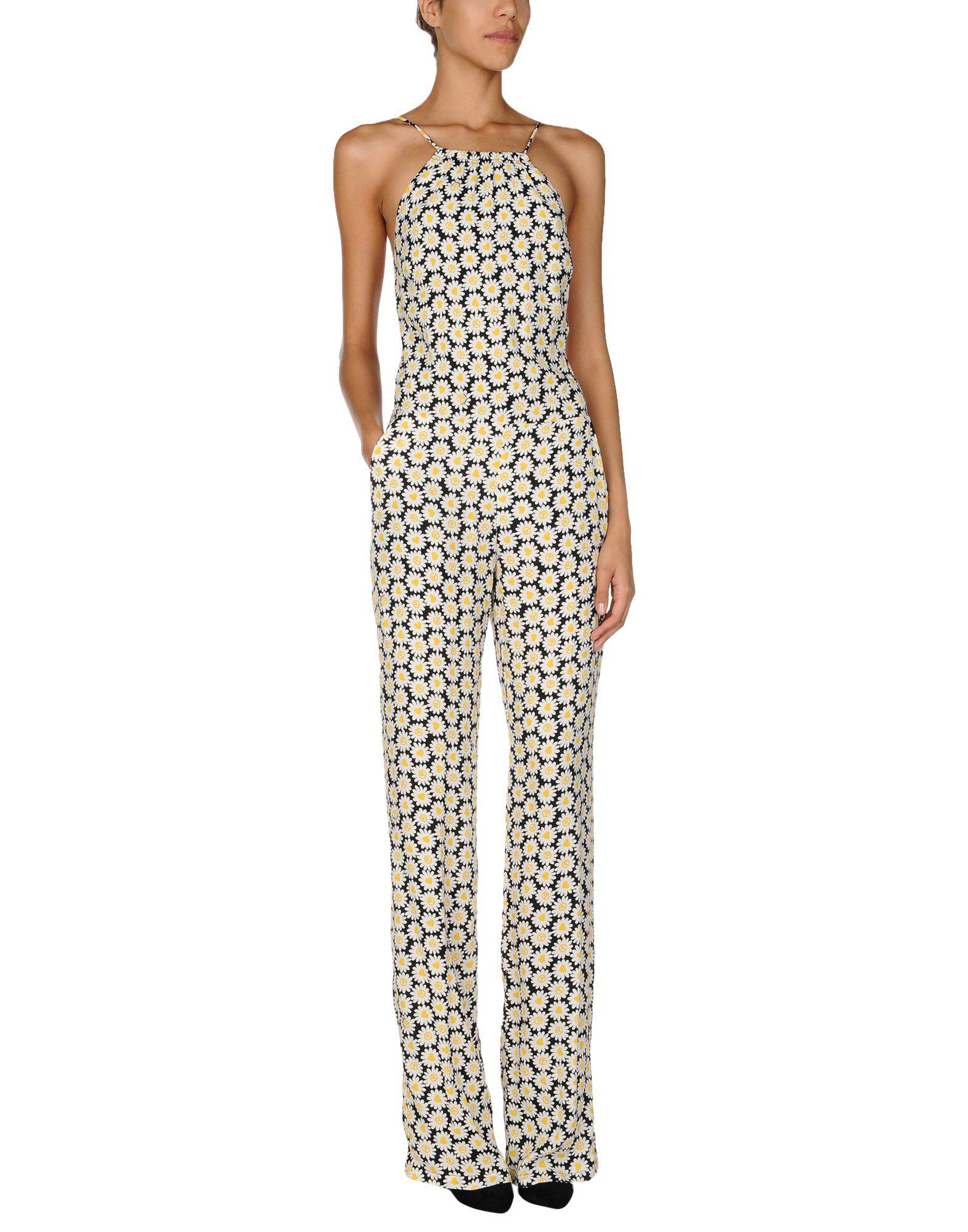 4bcd46e95dc8 Love Moschino Jumpsuit in White - Lyst