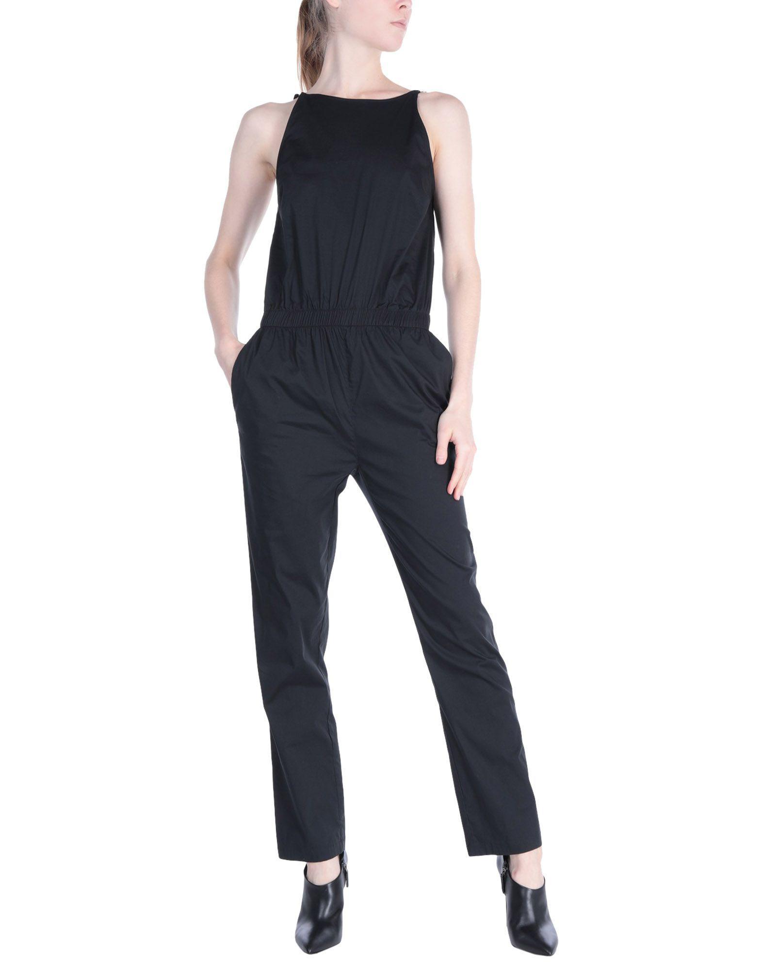 60363edb0bf Lyst - Patrizia Pepe Jumpsuit in Black