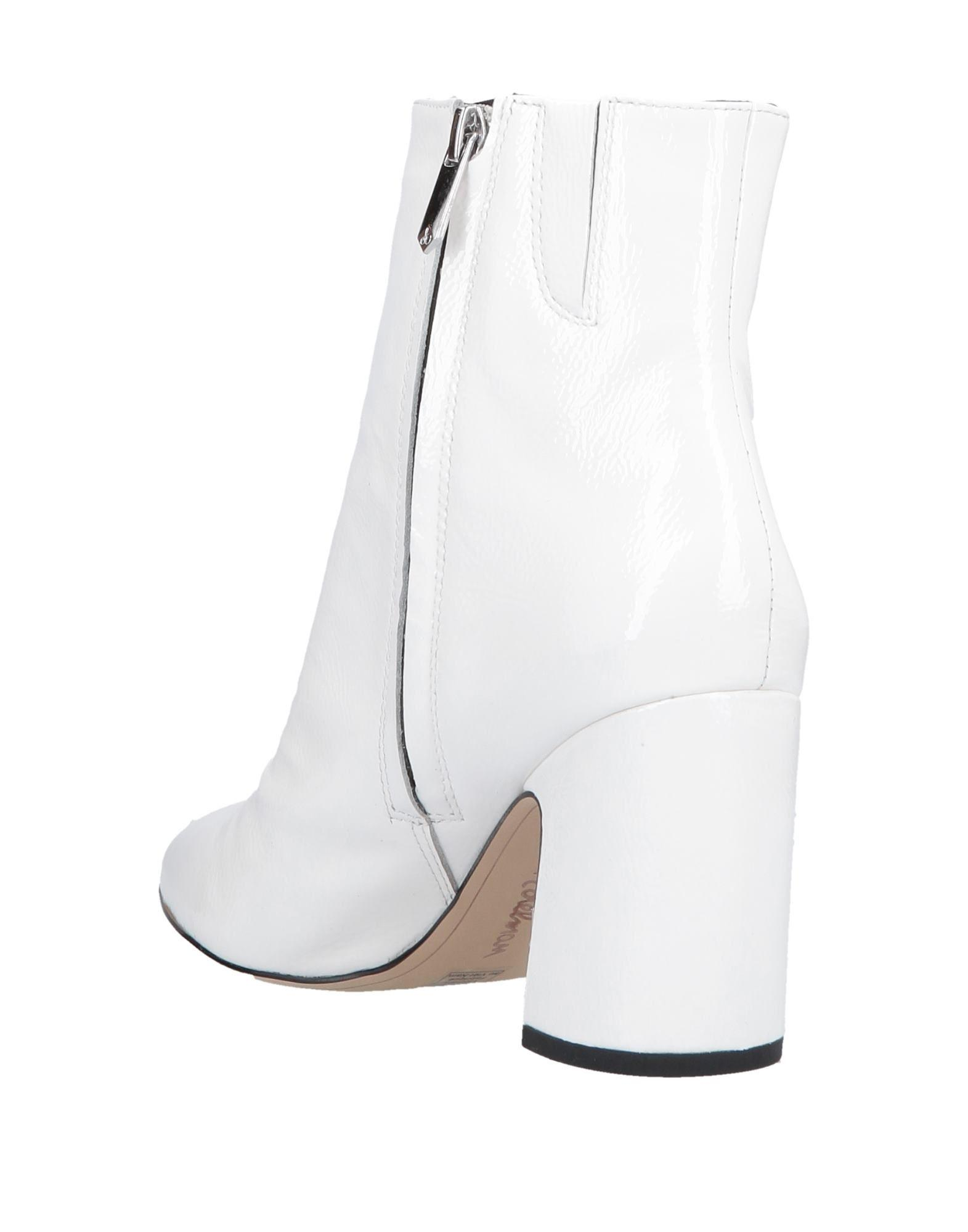 d33898688 Lyst - Sam Edelman Ankle Boots in White