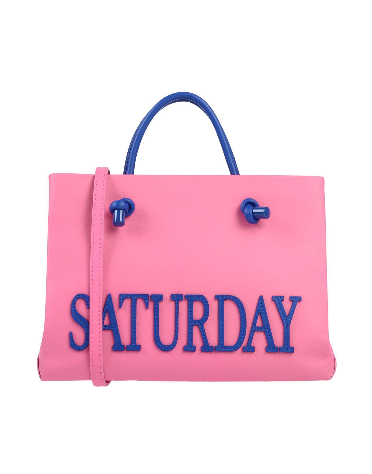 577fdcfb5ee6 Alberta Ferretti Handbag in Pink - Save 49% - Lyst