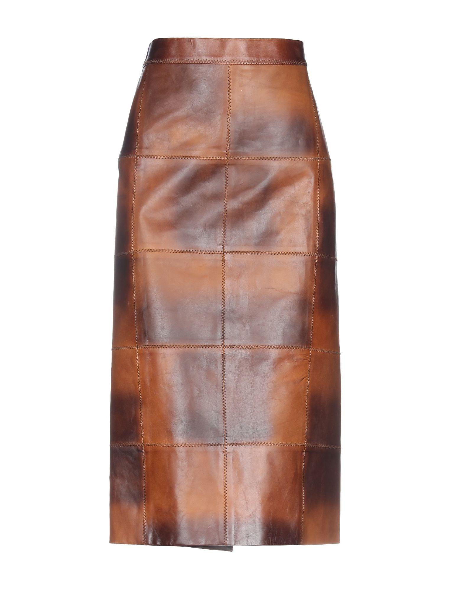8ed65eb1f Lyst - Tom Ford 3/4 Length Skirt in Brown - Save 45%