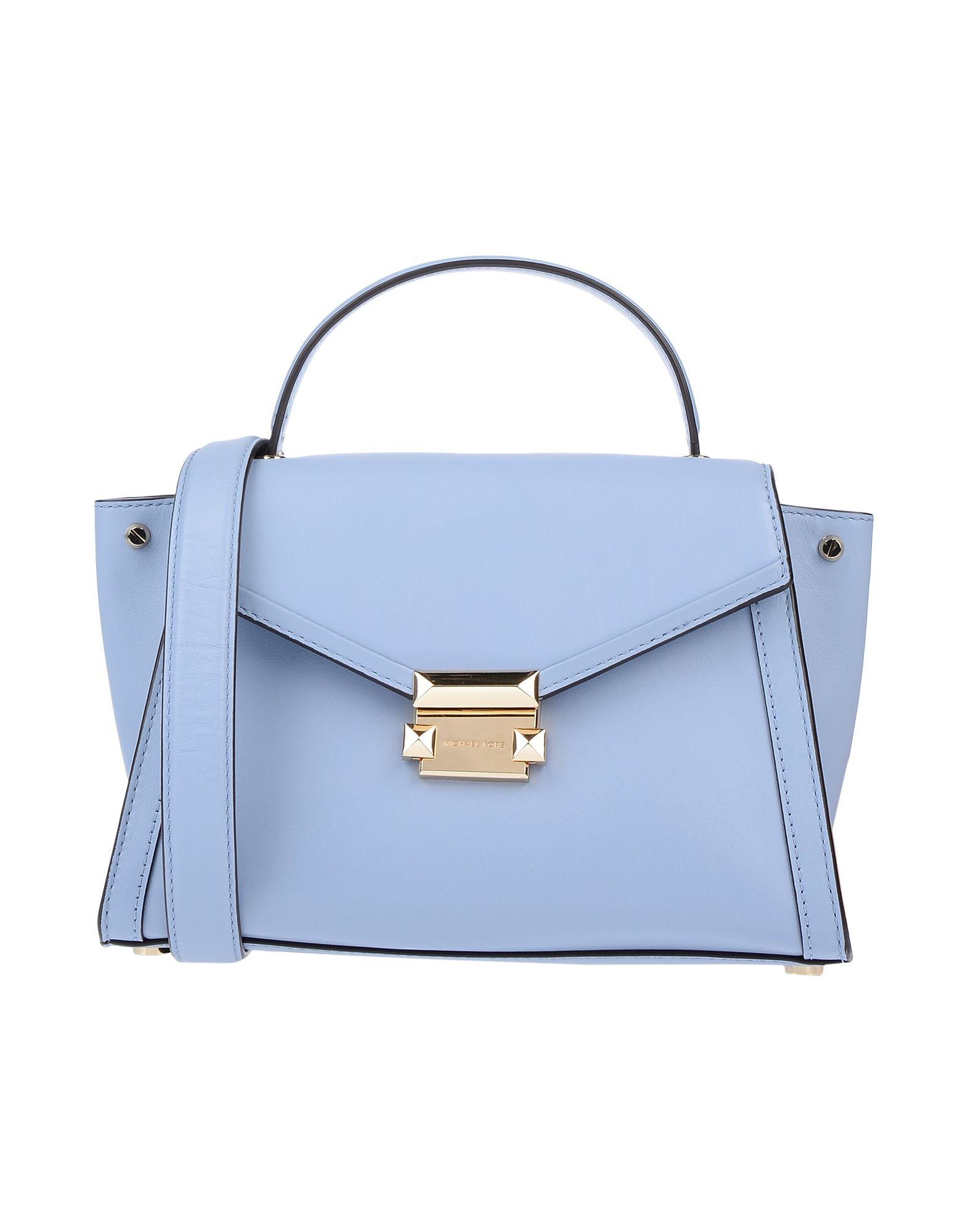 e93e30ec7ae760 Lyst - MICHAEL Michael Kors Handbag in Blue