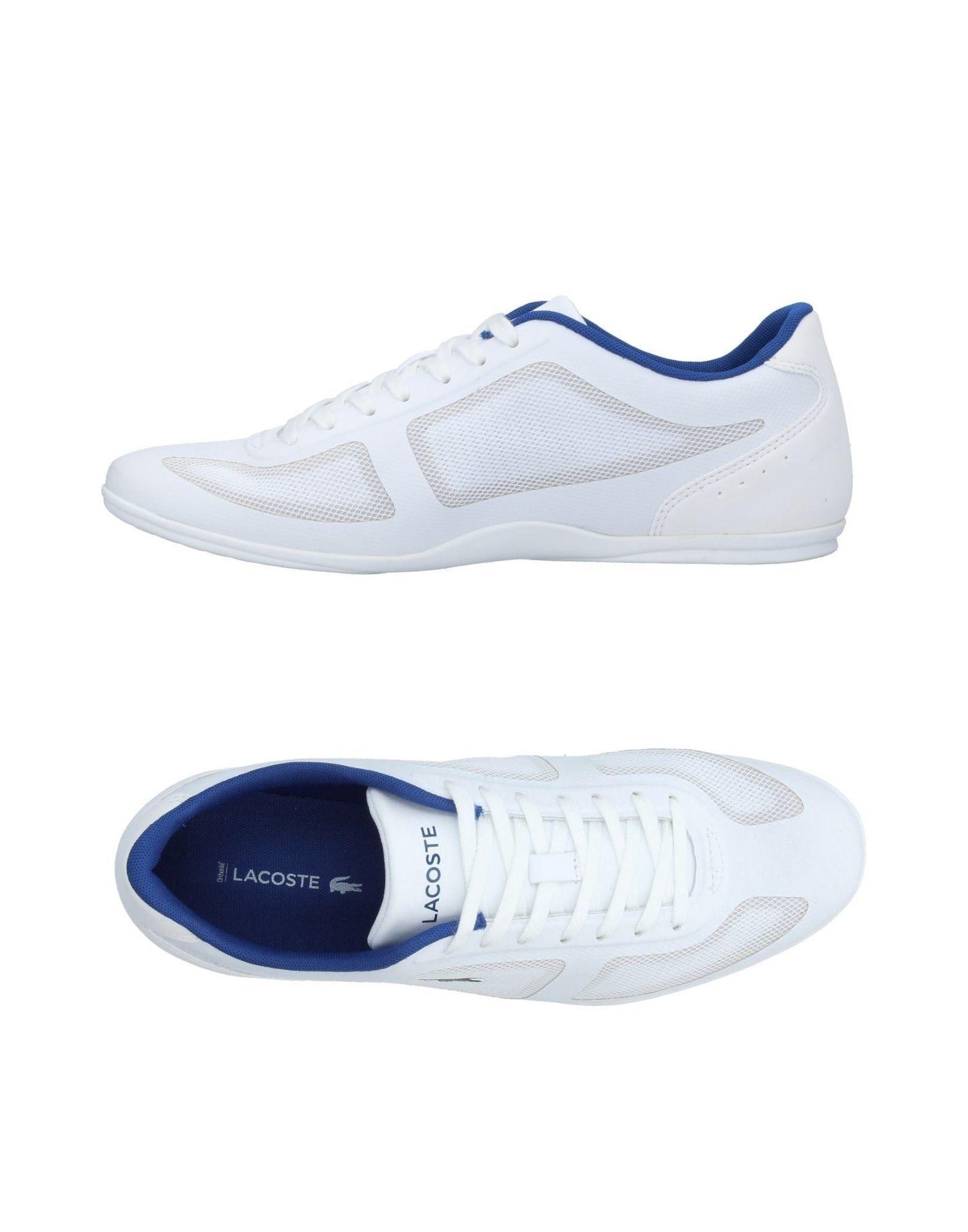 Lacoste. Men\u0027s White Low-tops \u0026 Sneakers