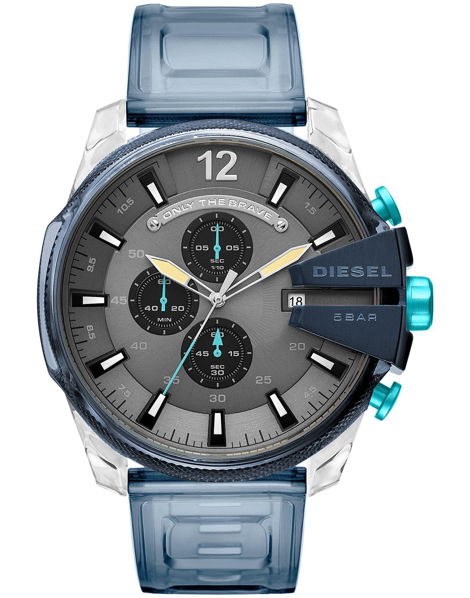 Lyst - Reloj de pulsera DIESEL de hombre de color Azul 1b6b0f0bcd3a