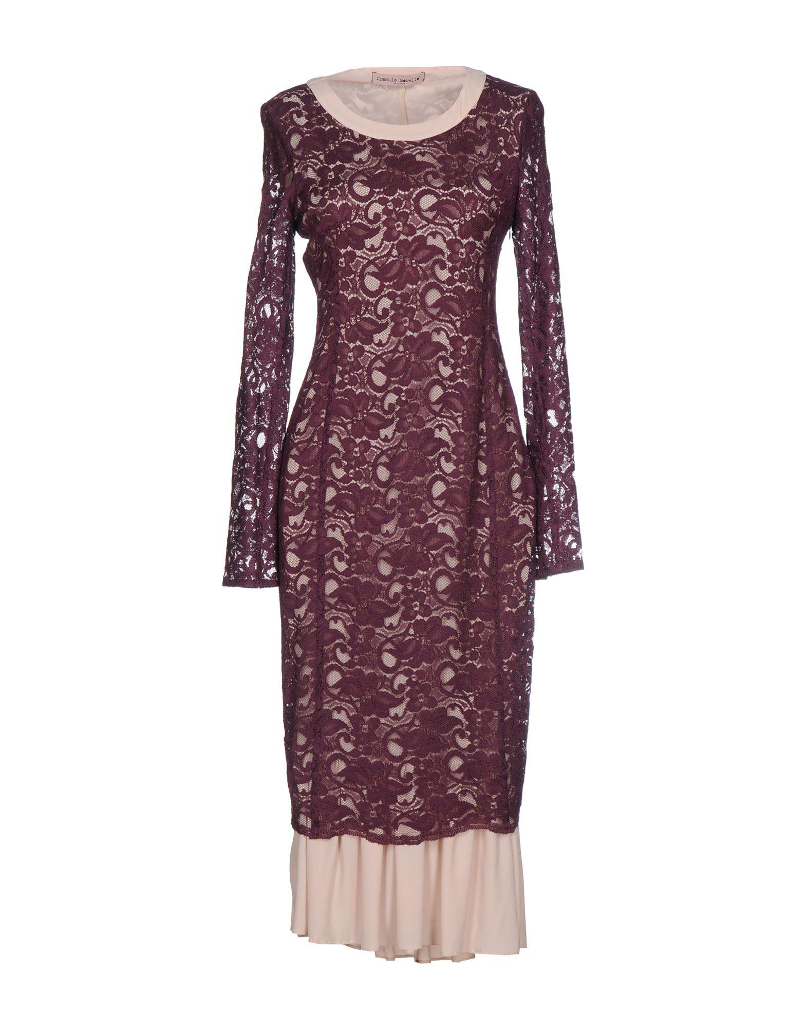 DRESSES - 3/4 length dresses Frankie Morello DTTVjWHIu