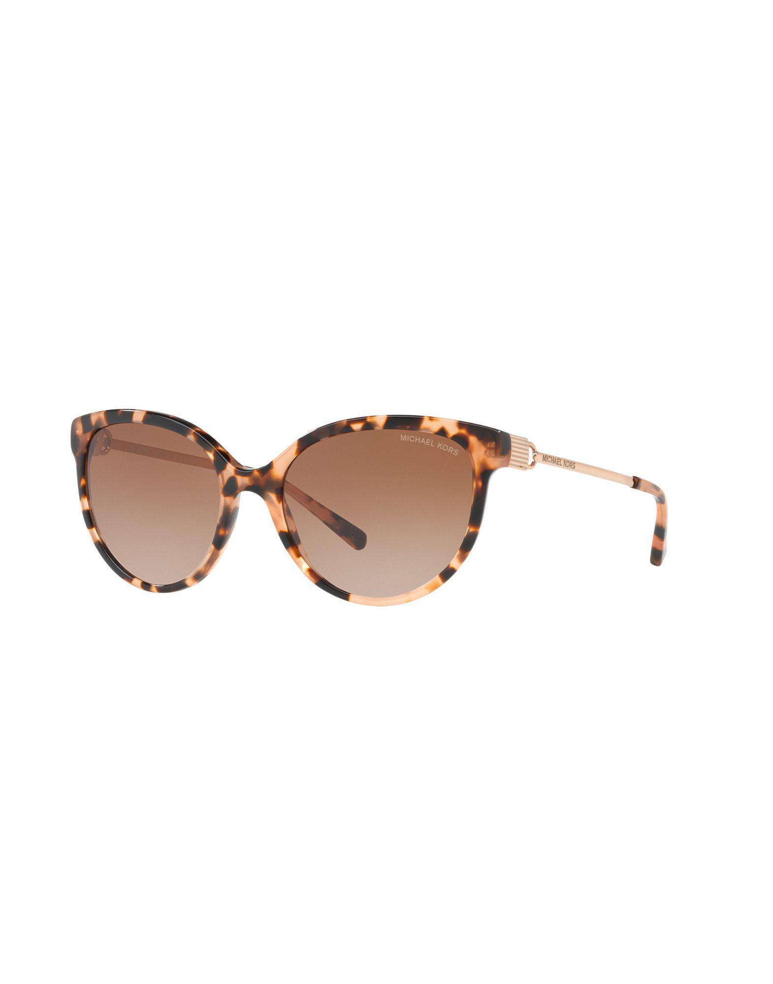 78b16509a2 Michael Kors - Brown Sunglasses - Lyst. View fullscreen