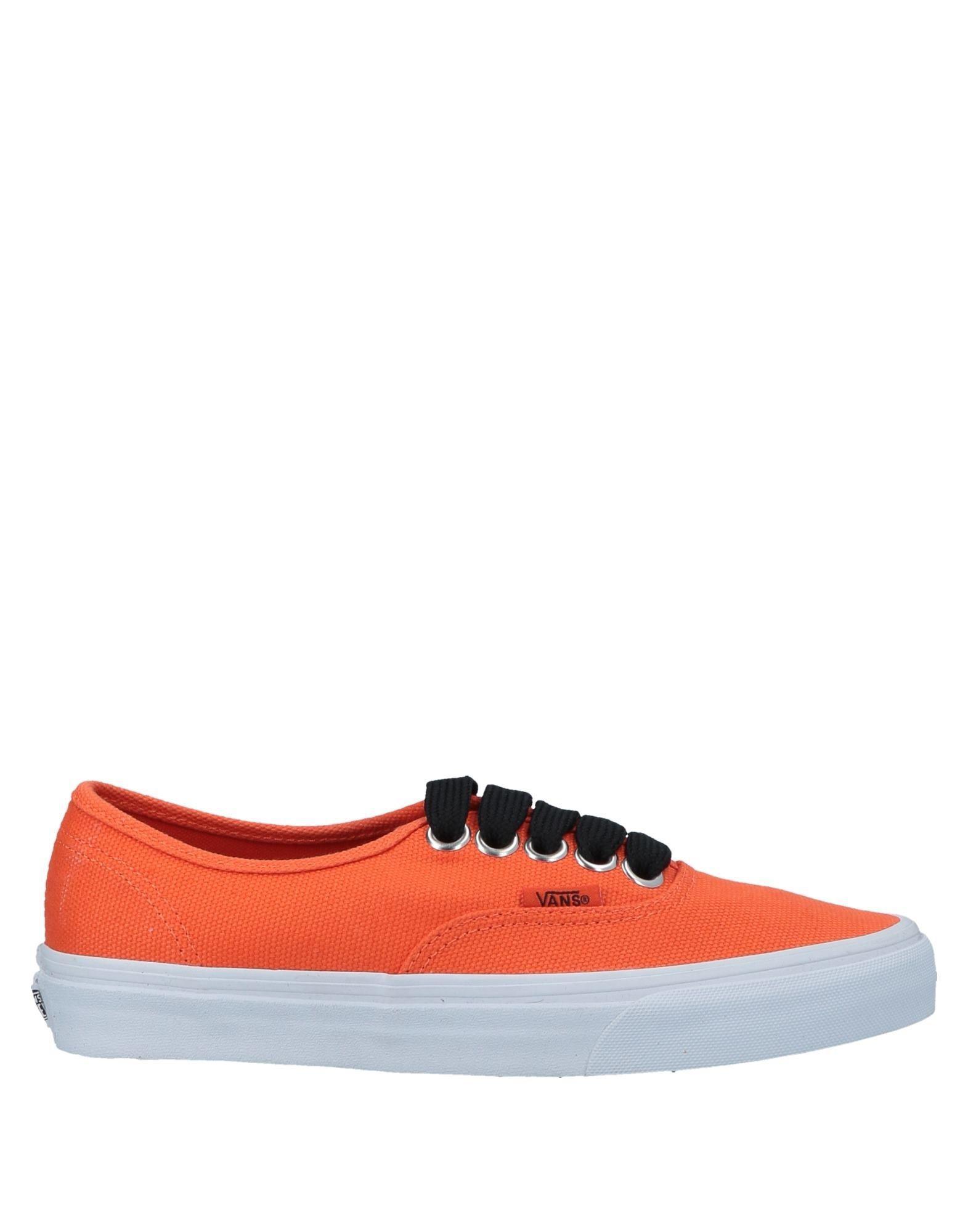 Lyst - Vans Low-tops   Sneakers in Orange - Save 37% ebffda889