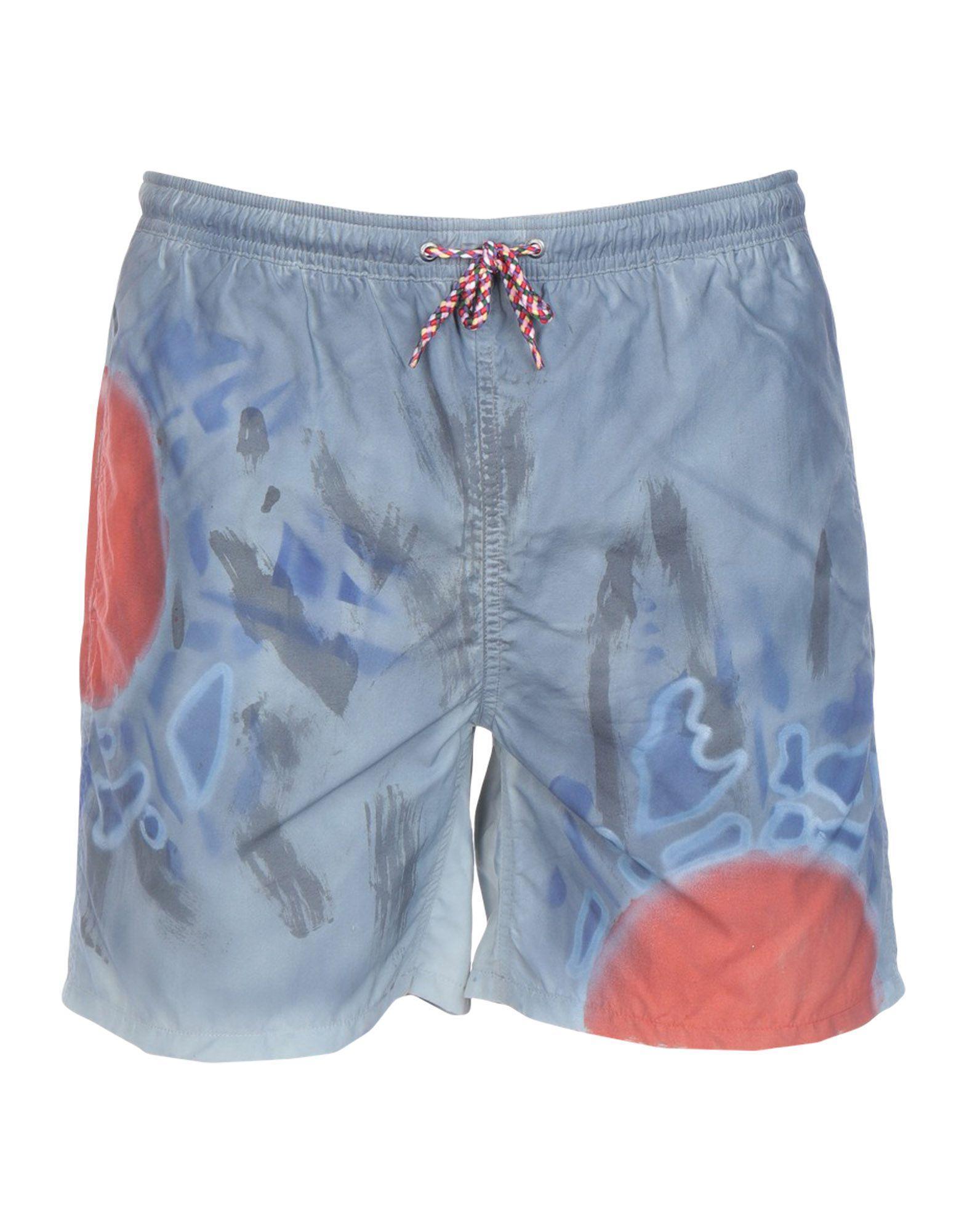 b3063df507 Swim-Ology Swim Trunks in Gray for Men - Lyst