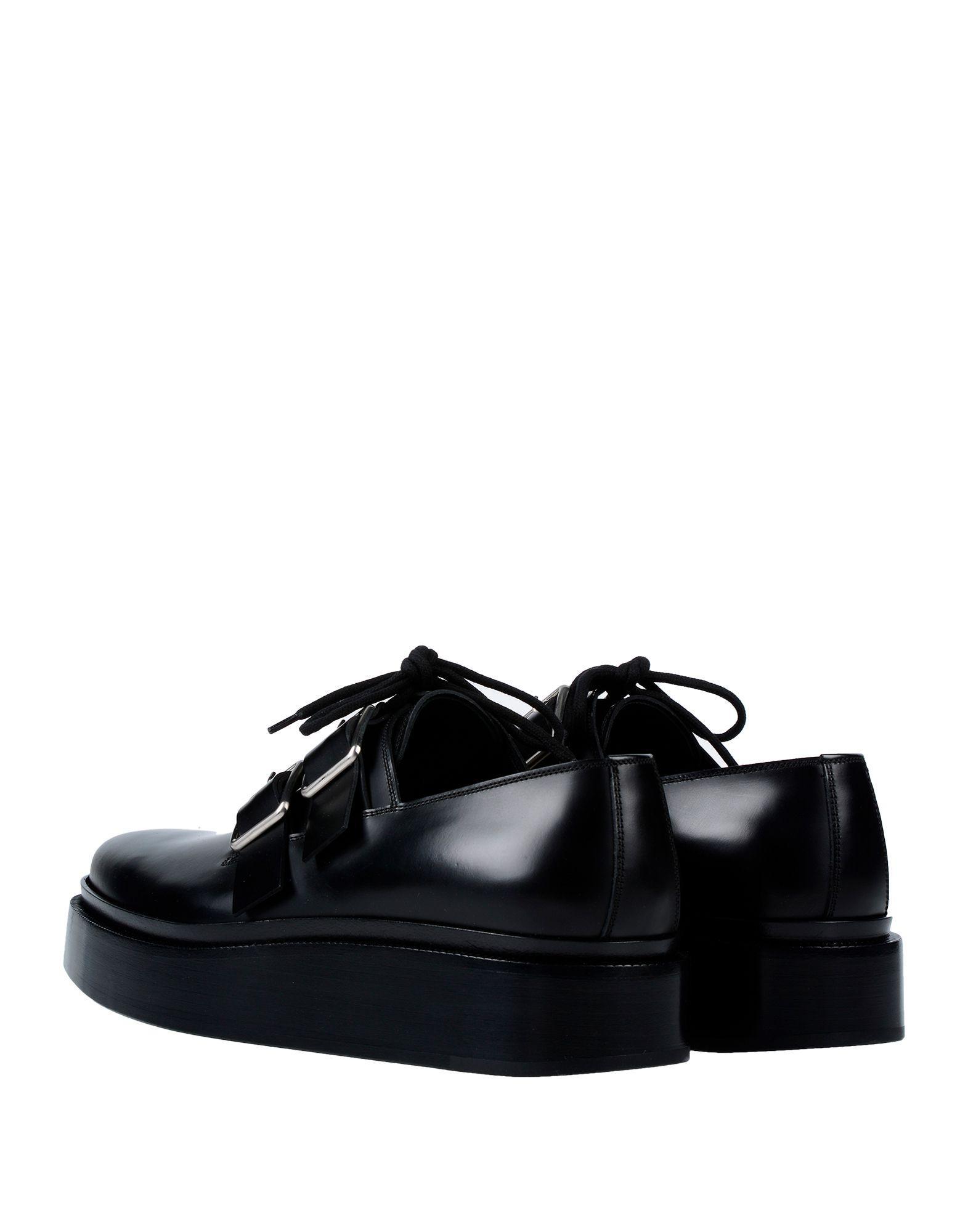 20a59499398 Lyst - Jil Sander Lace-up Shoe in Black for Men