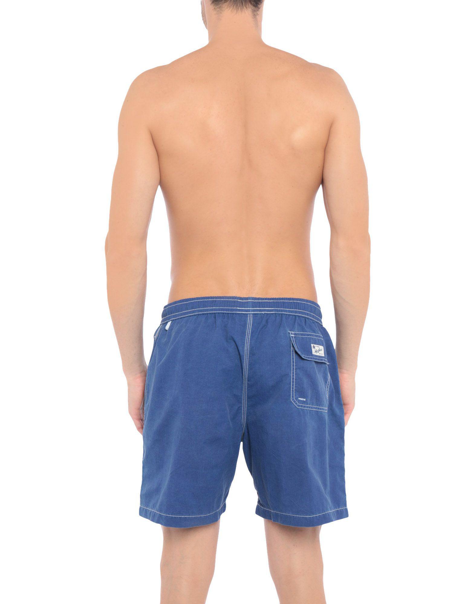 0100641f8b Hartford Swim Trunks in Blue for Men - Lyst