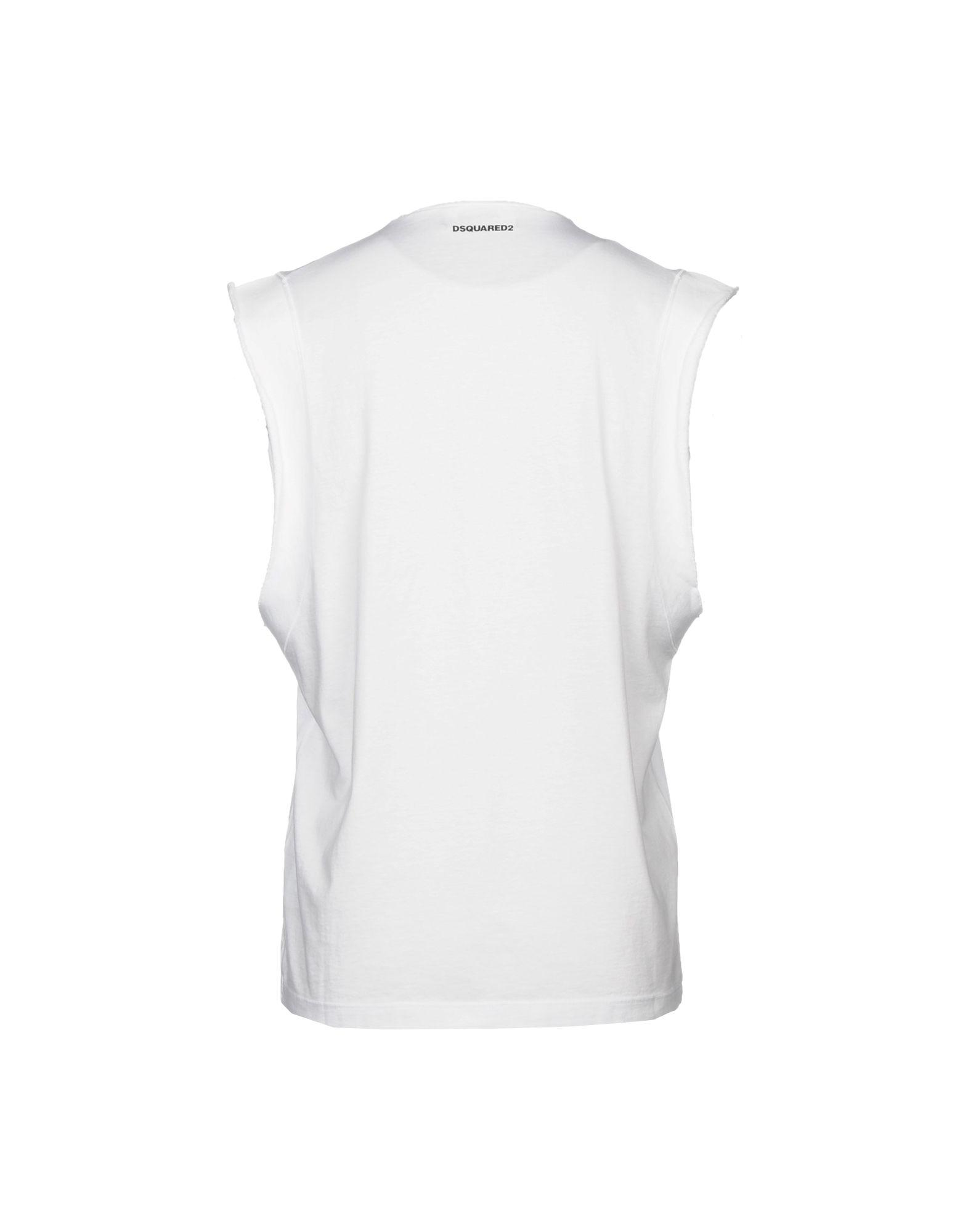 Lyst - Dsquared² T-shirt in White for Men c71c8a927