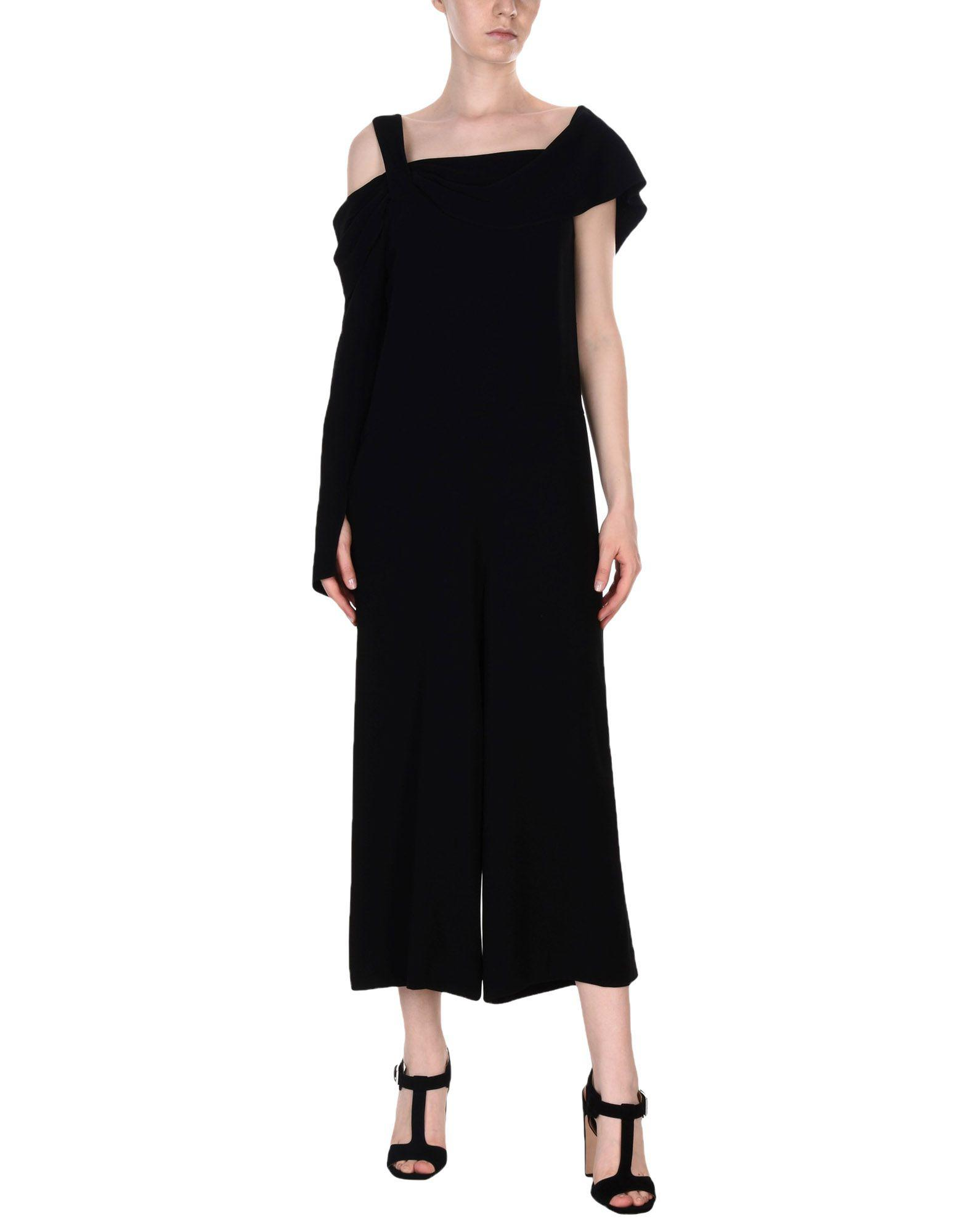 29adb02034cb Lyst - Tibi Jumpsuit in Black