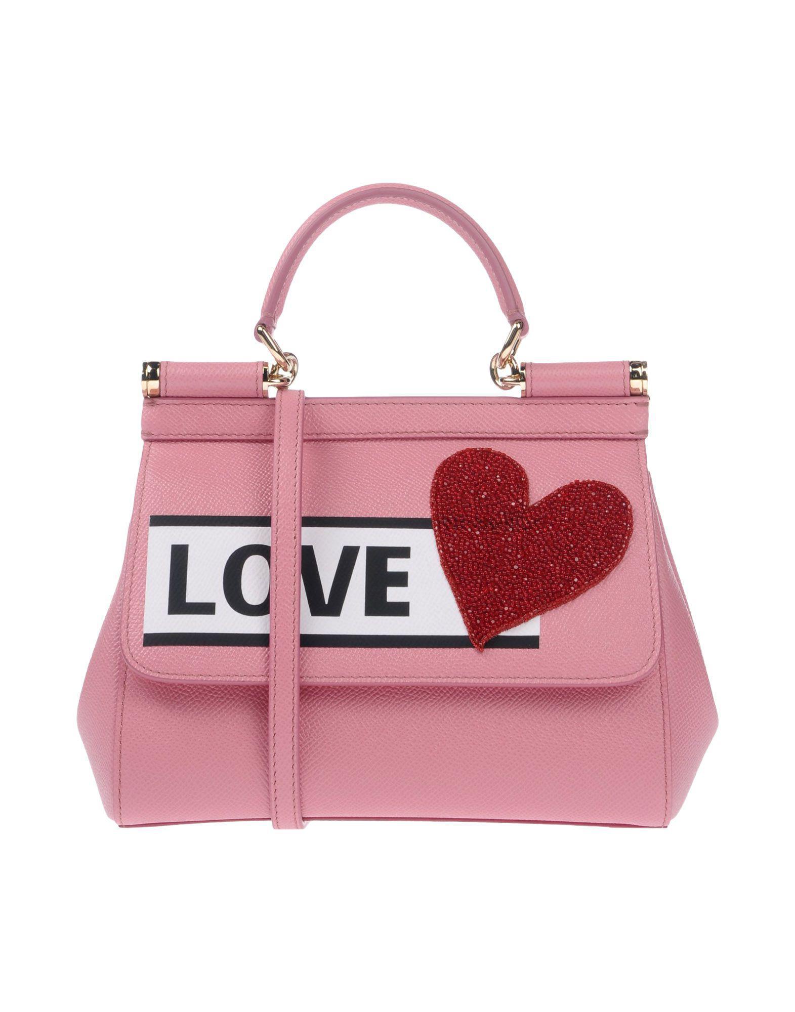e5f829e9a6a9 Lyst - Dolce   Gabbana Handbag in Pink