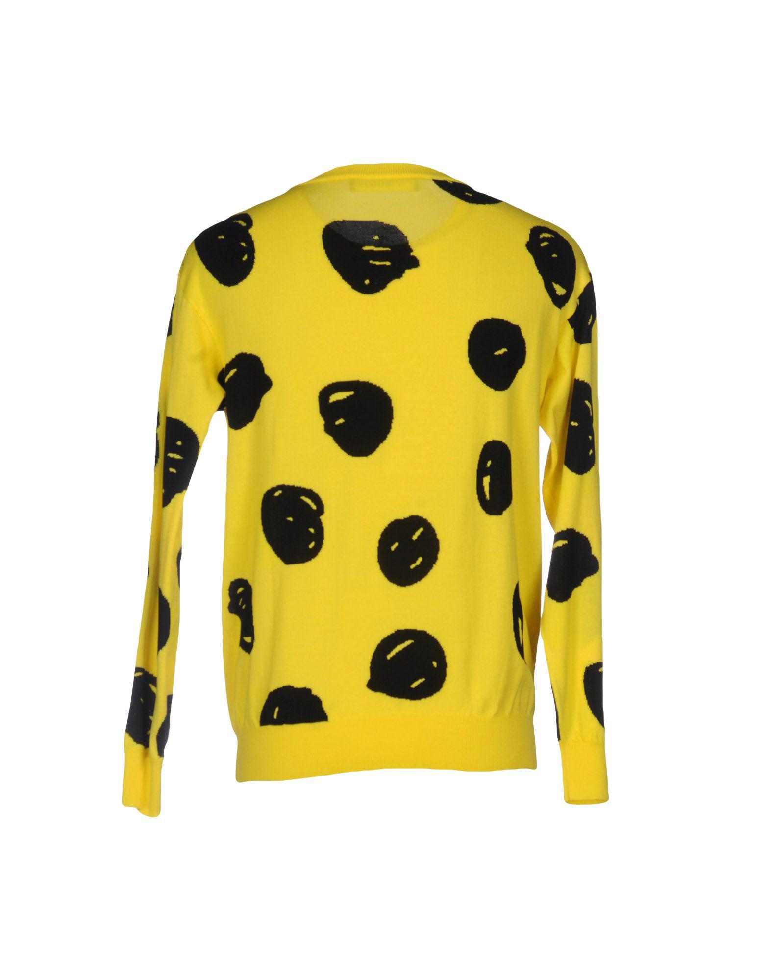 09ddb8d600ba Lyst - Jeremy Scott Jumper in Yellow for Men